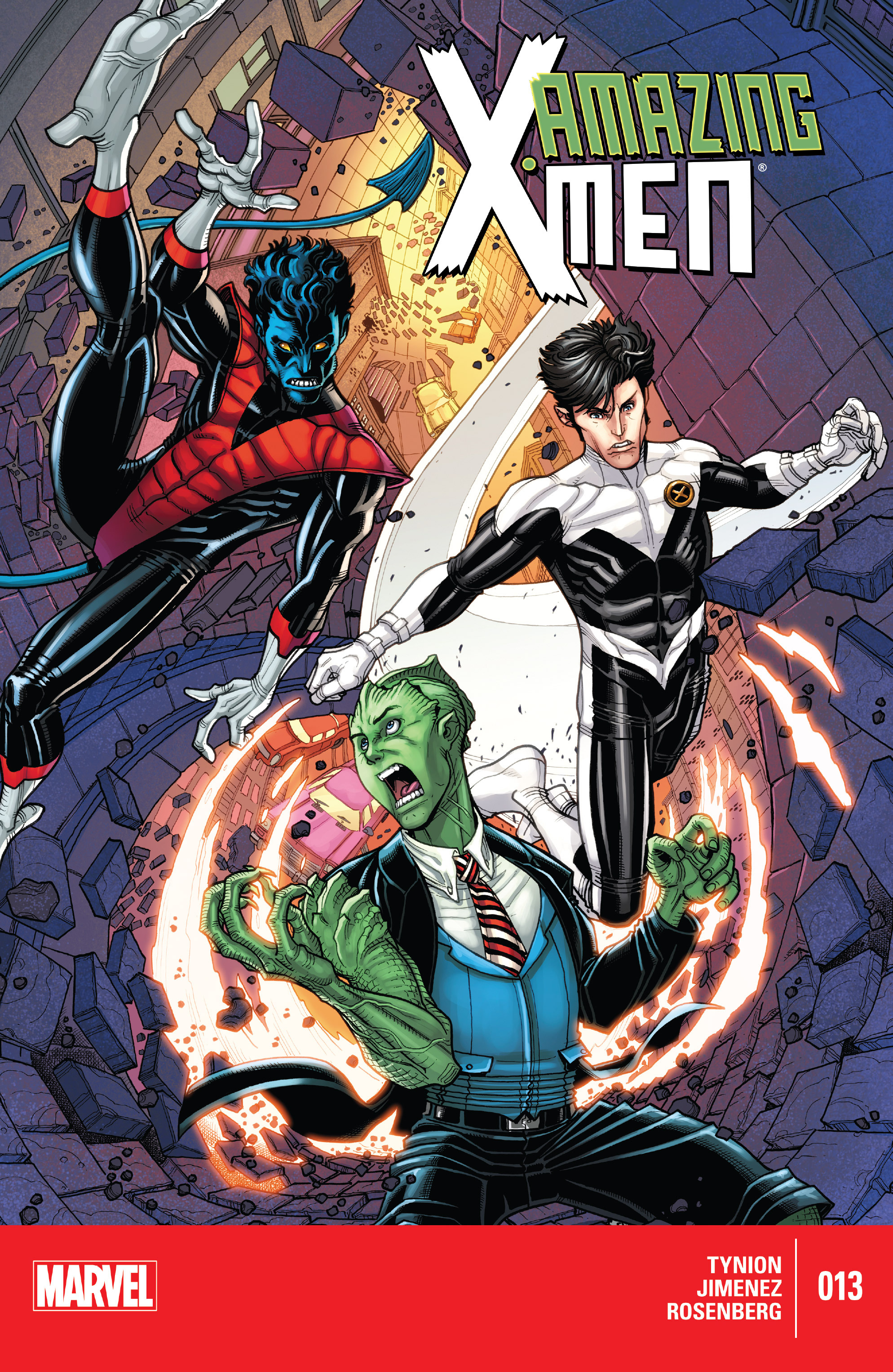 Read online Amazing X-Men (2014) comic -  Issue #13 - 1