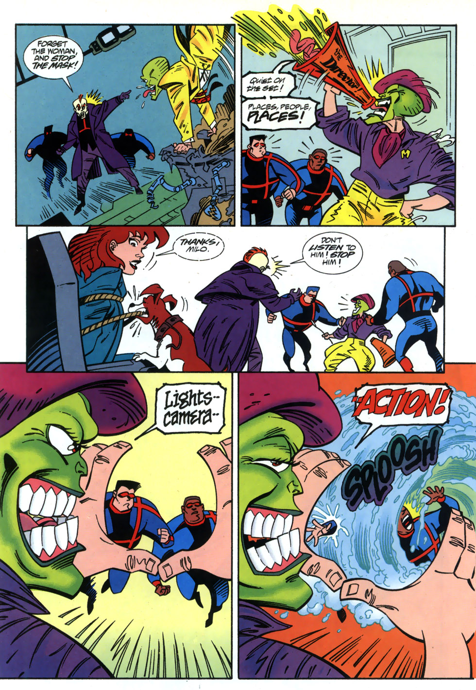 Read online Adventures Of The Mask comic -  Issue #2 - 18