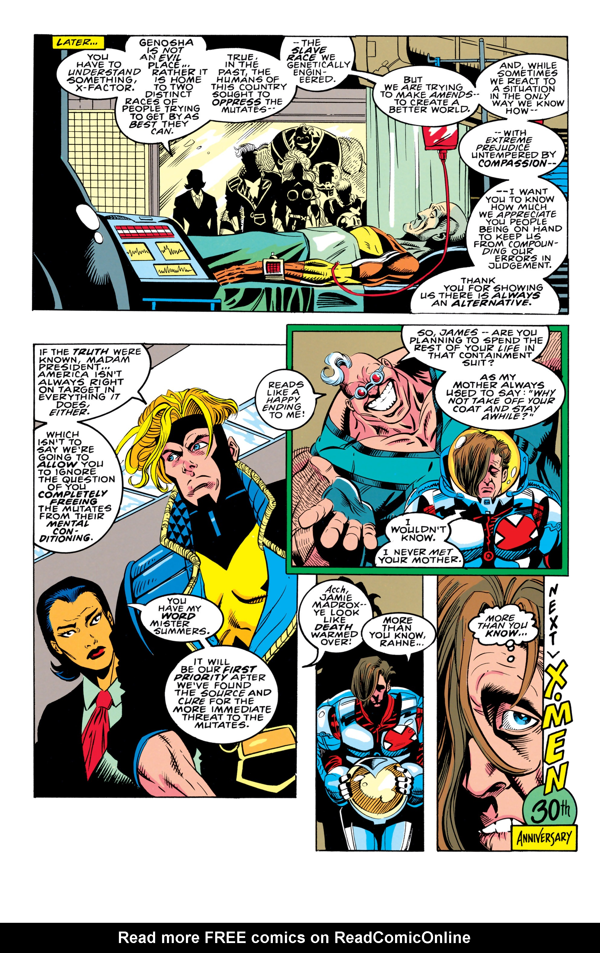 Read online X-Factor (1986) comic -  Issue #91 - 22