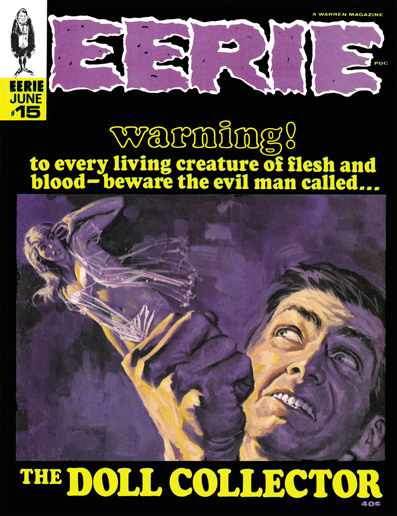 Read online Eerie Archives comic -  Issue # TPB 3 - 212
