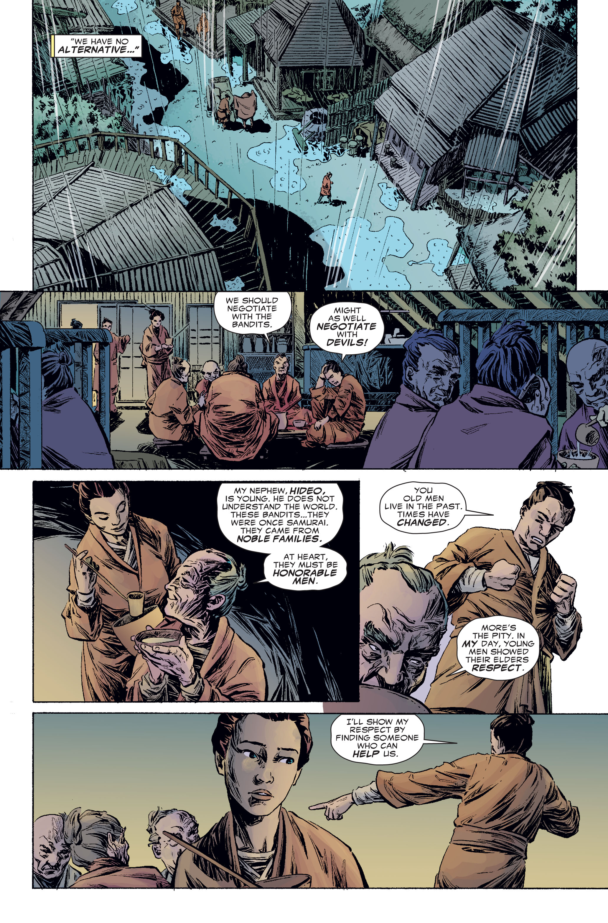 Read online 5 Ronin (2011) comic -  Issue #2 - 5