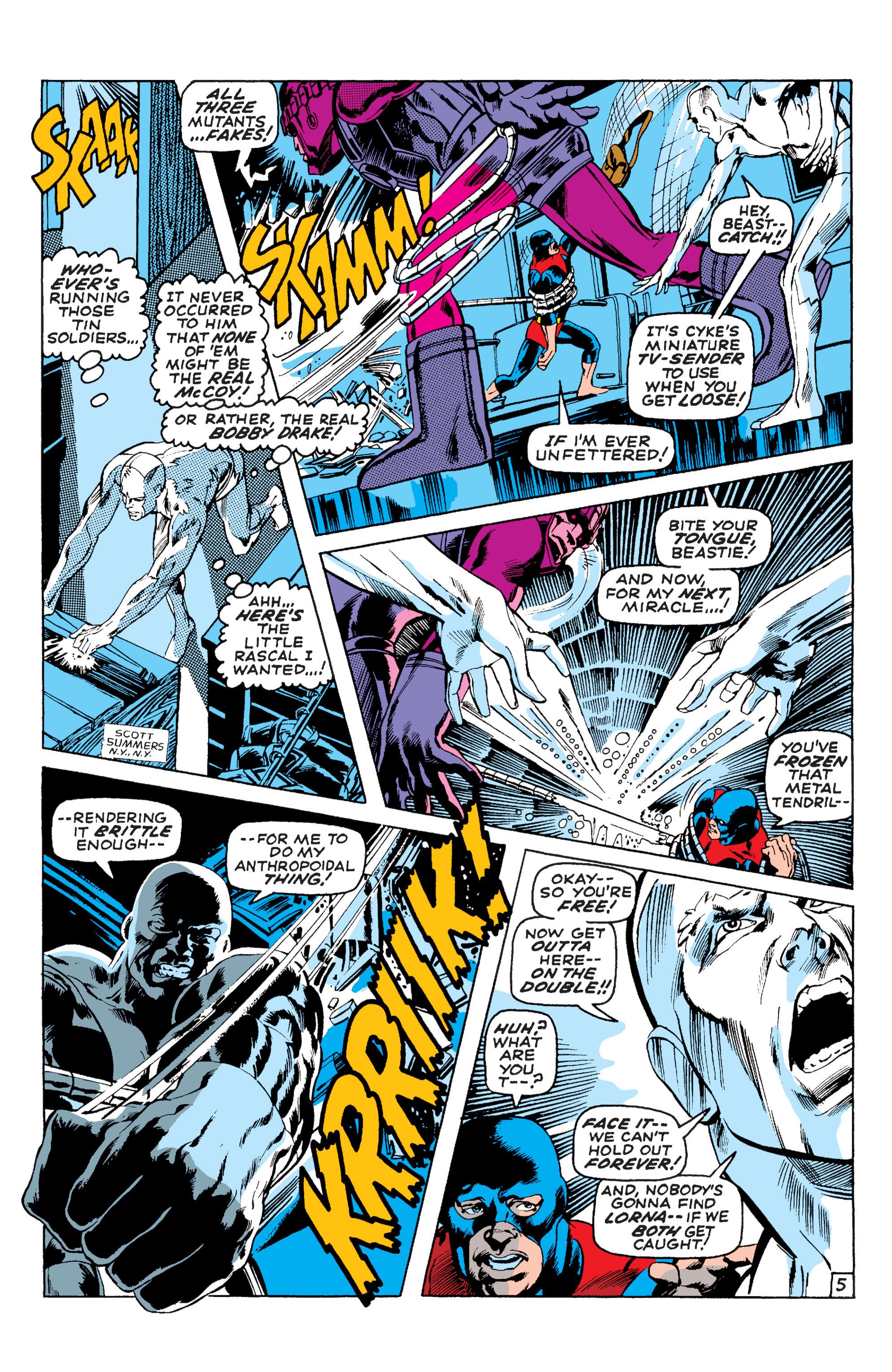 Read online Uncanny X-Men (1963) comic -  Issue #58 - 5