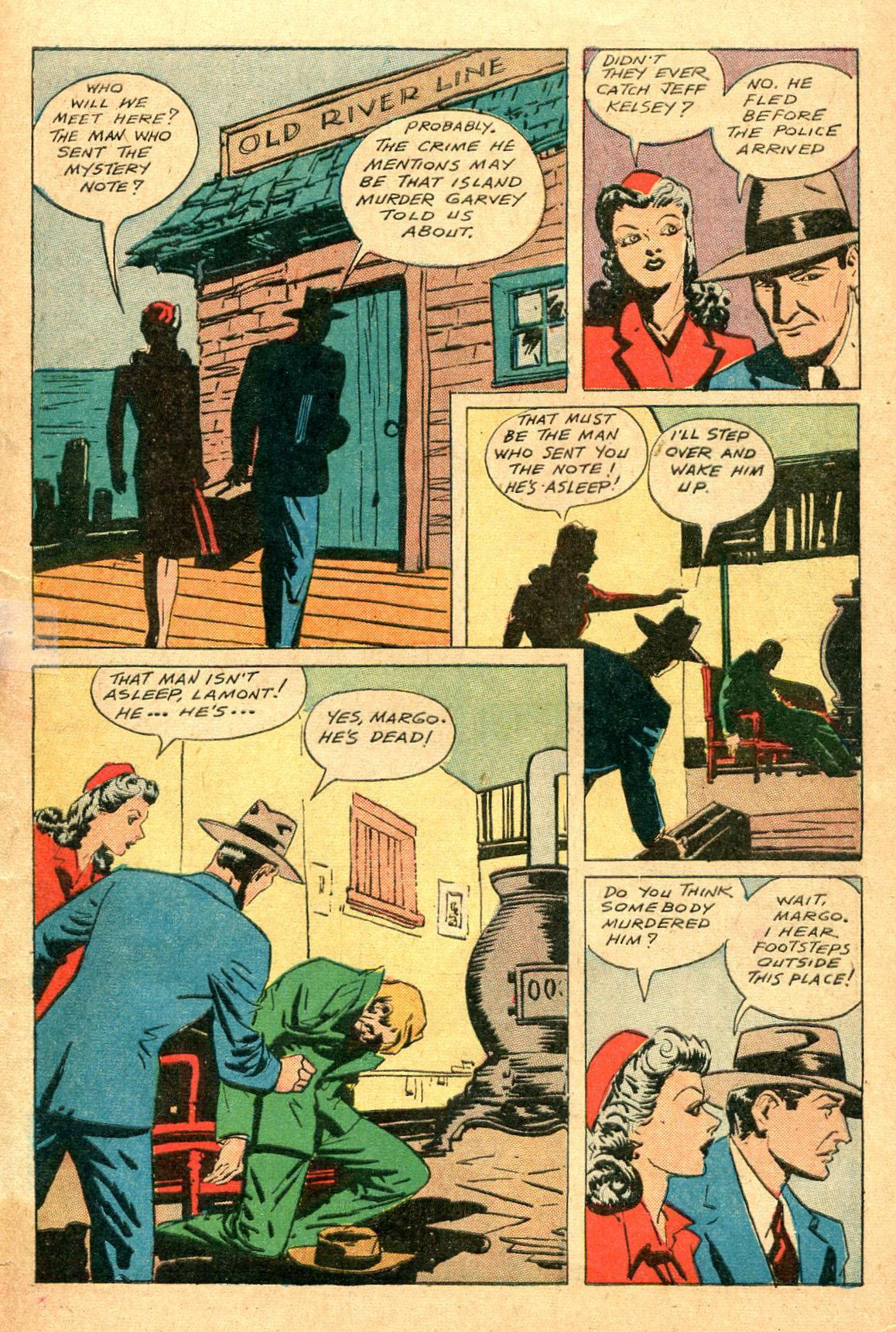 Read online Shadow Comics comic -  Issue #47 - 44