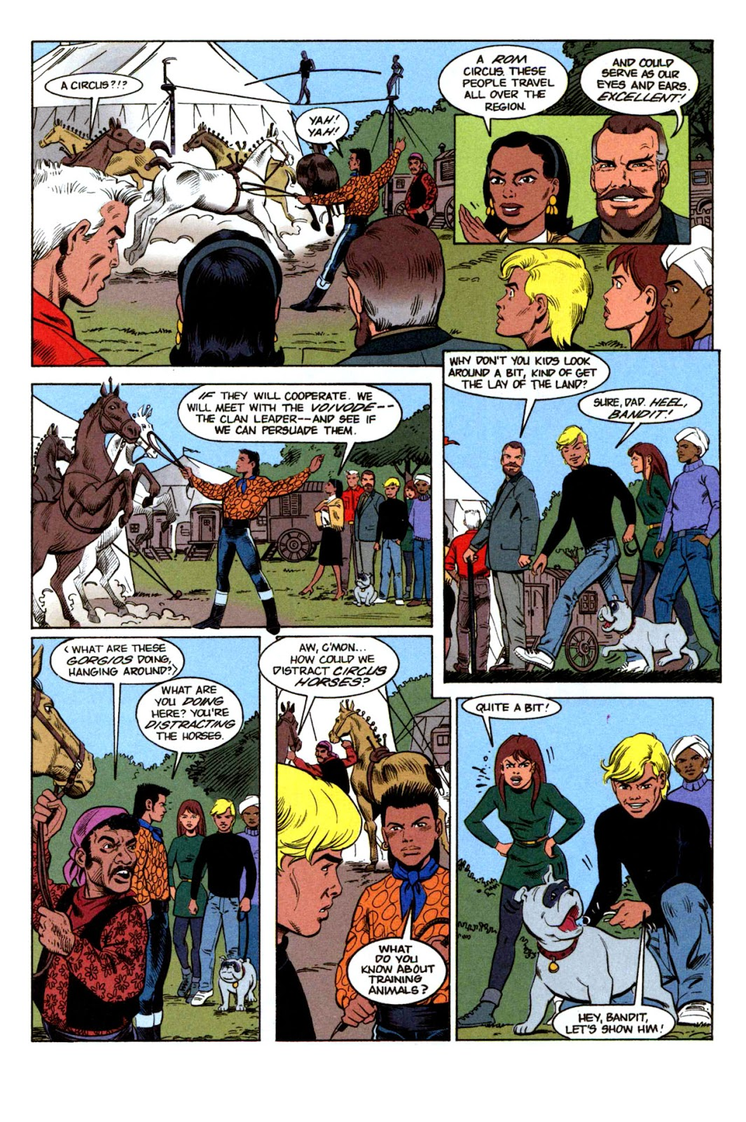 Read online The Real Adventures of Jonny Quest comic -  Issue #1 - 16