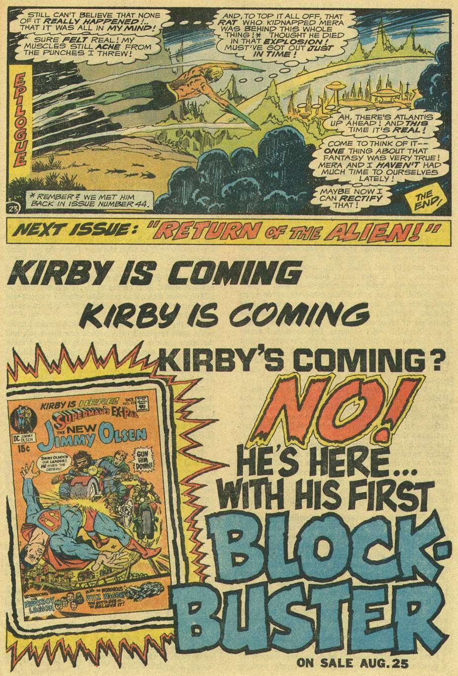 Read online Aquaman (1962) comic -  Issue #54 - 29