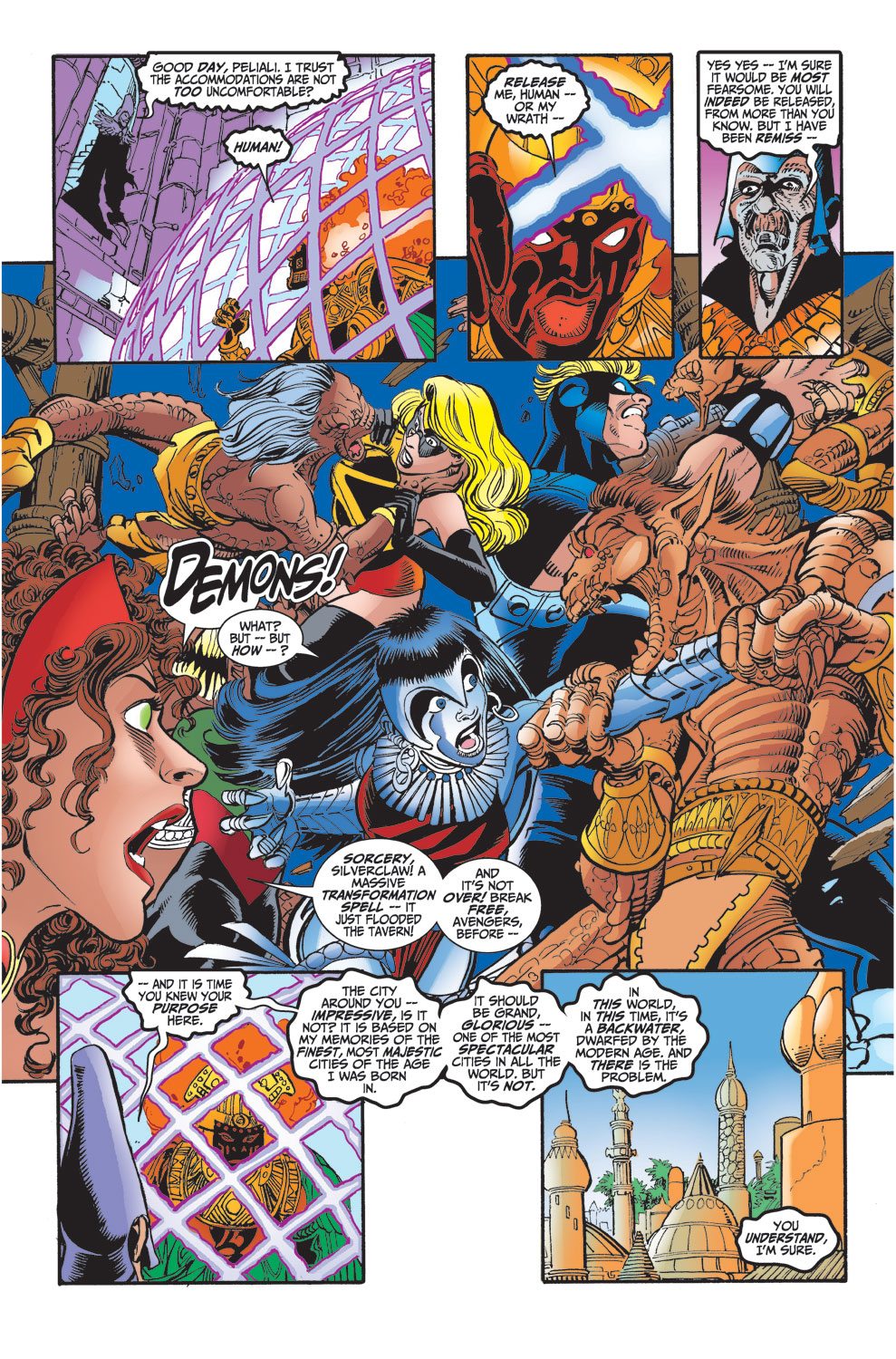 Read online Avengers (1998) comic -  Issue #29 - 18