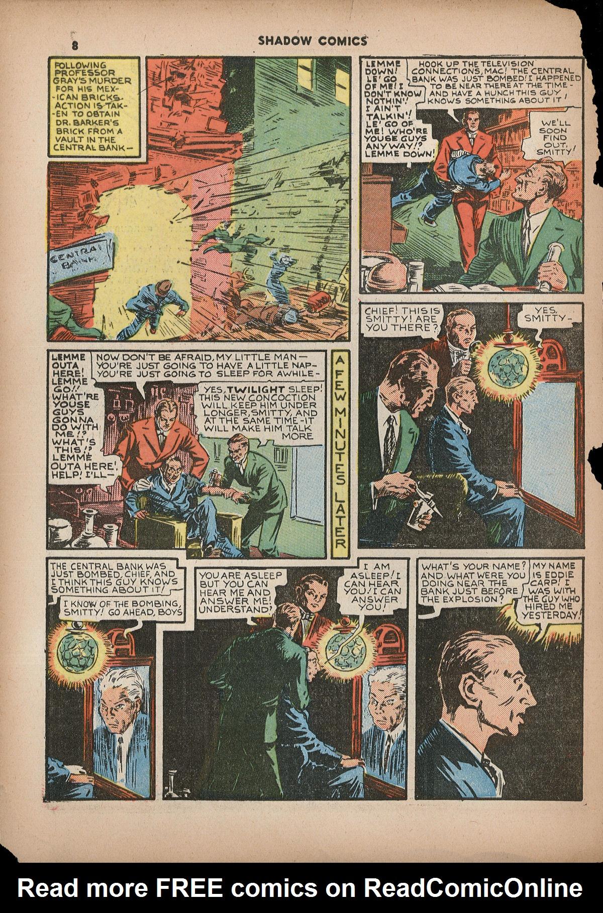Read online Shadow Comics comic -  Issue #2 - 11