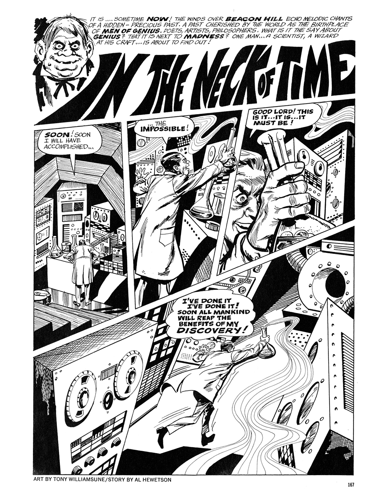 Read online Eerie Archives comic -  Issue # TPB 5 - 168