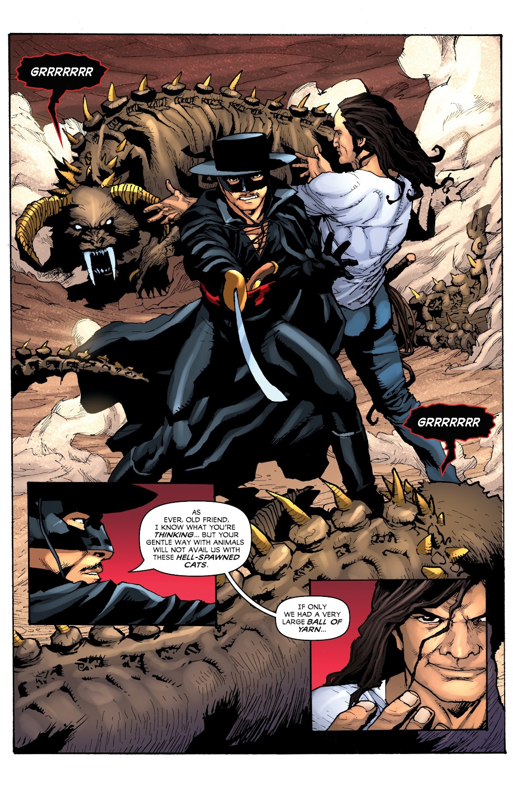 Read online Zorro: Swords of Hell comic -  Issue #3 - 3