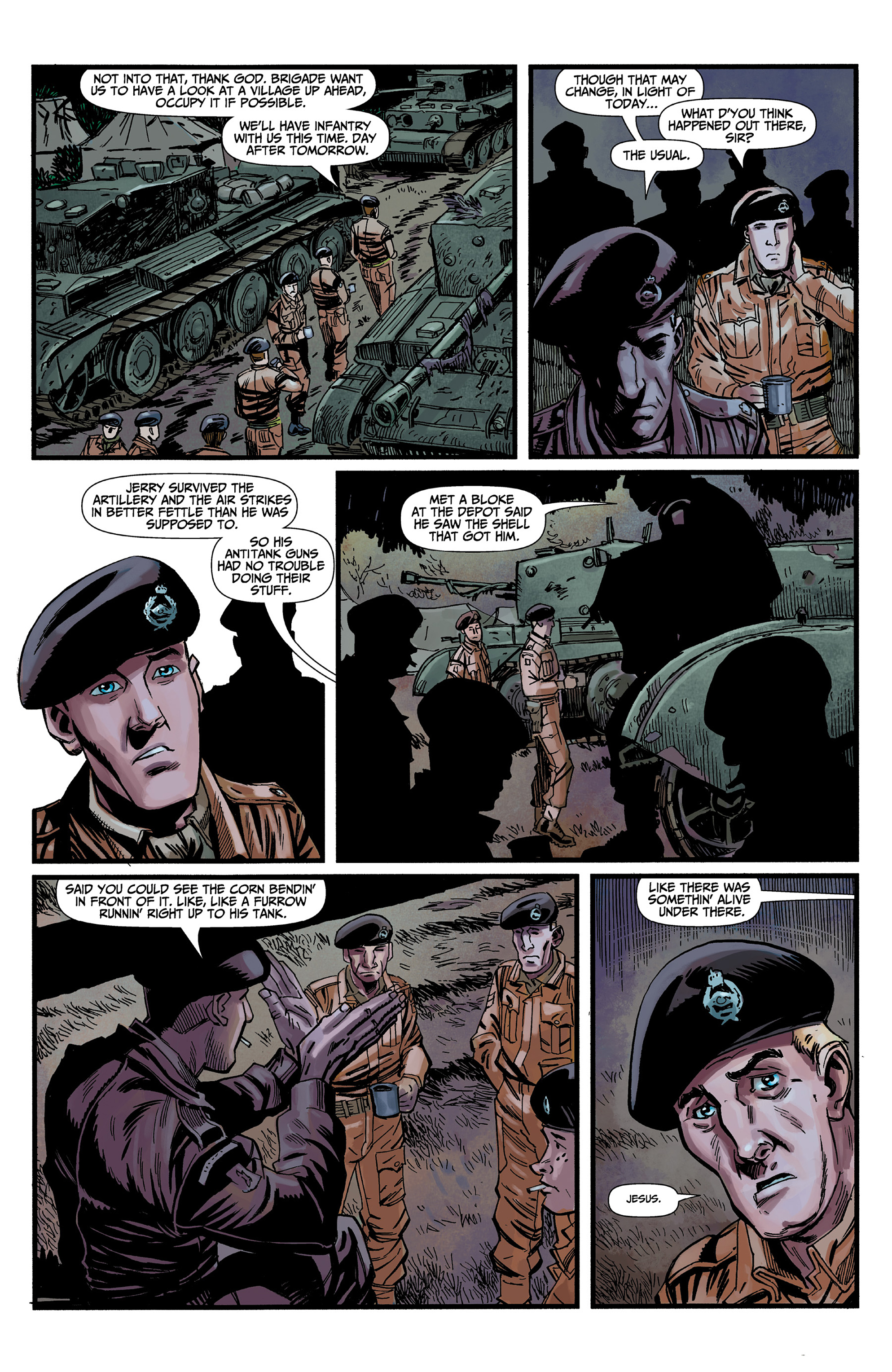 Read online World of Tanks comic -  Issue #3 - 5