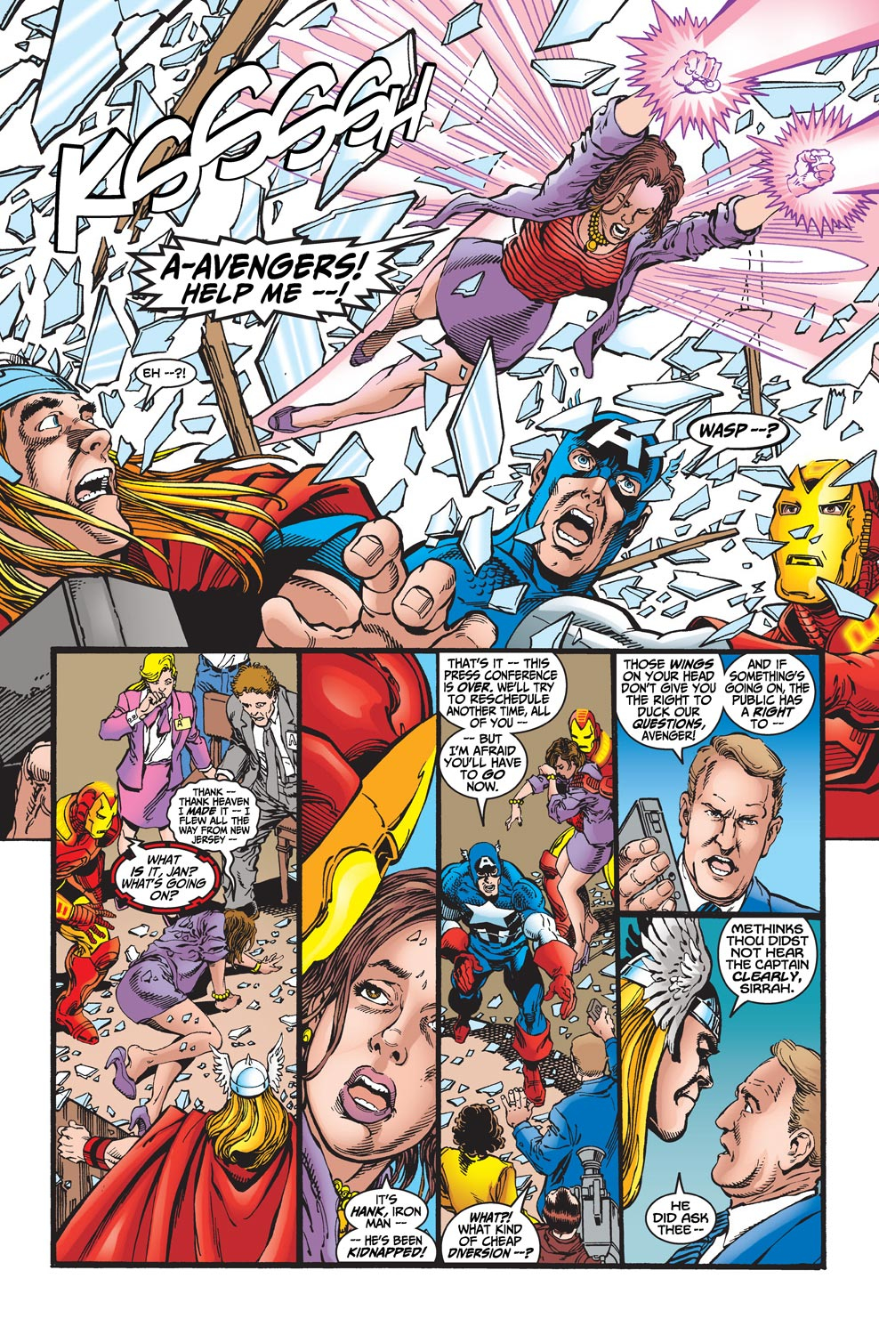 Read online Avengers (1998) comic -  Issue #19 - 10