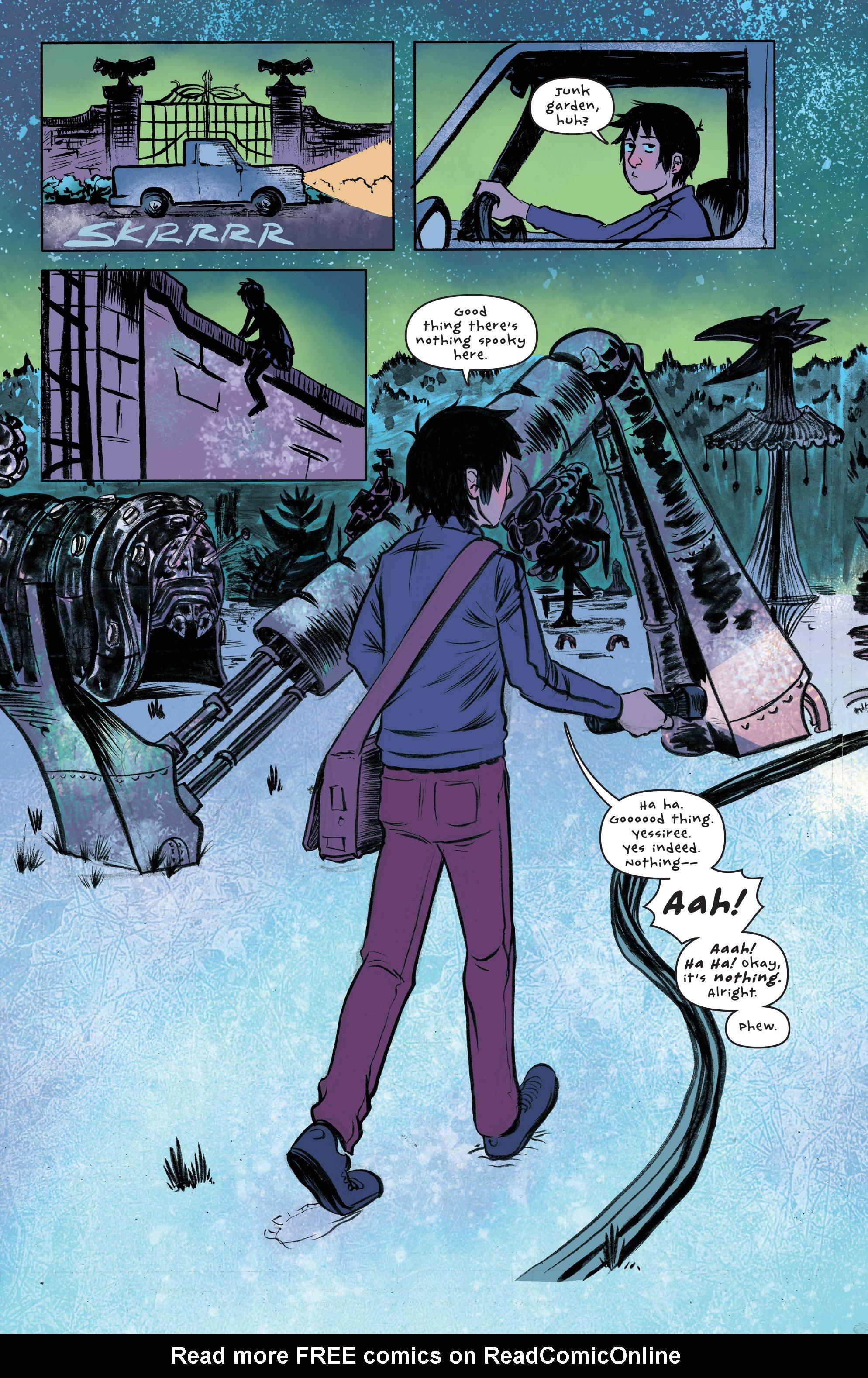 Read online UFOlogy comic -  Issue #2 - 22