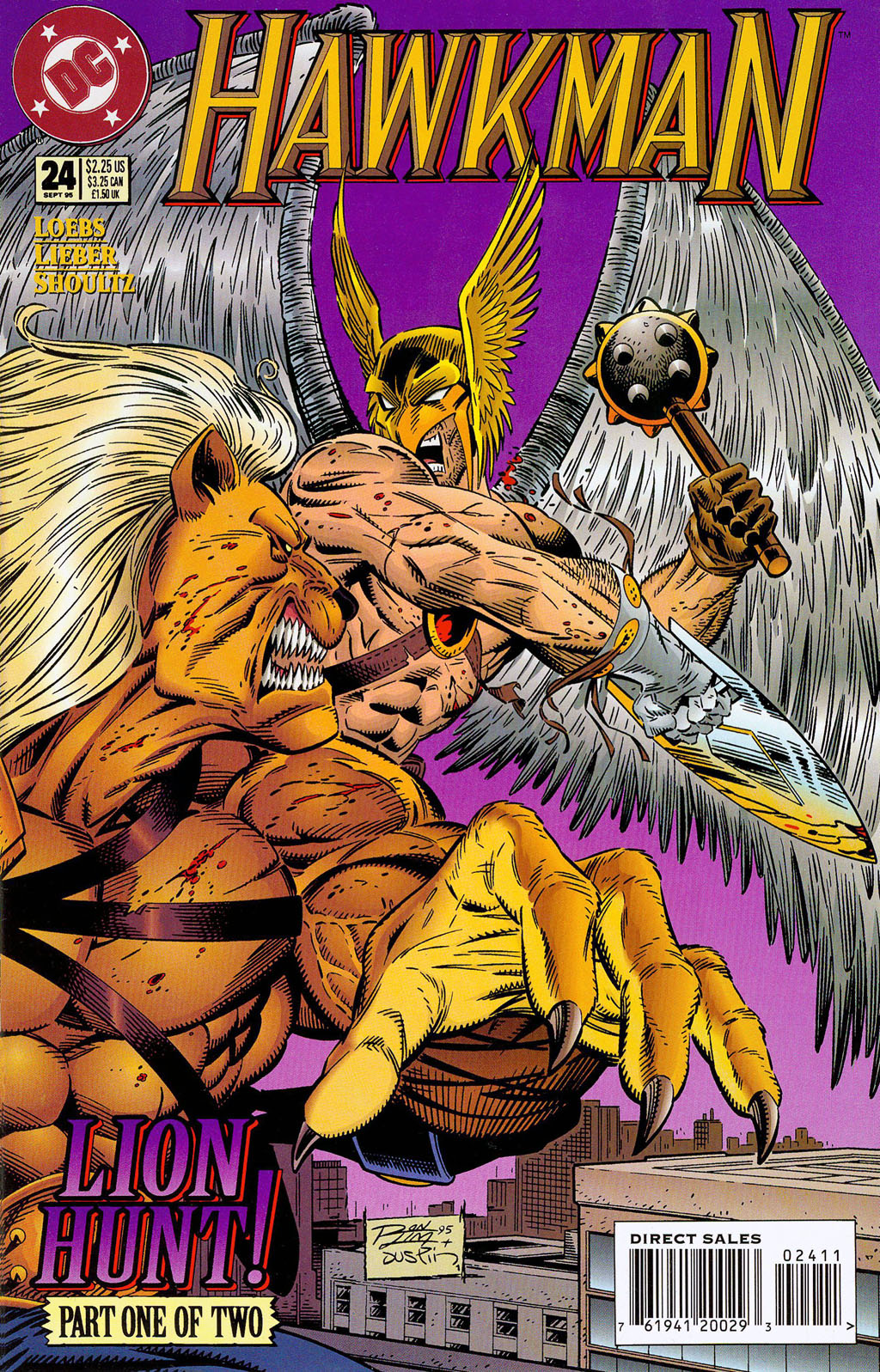 Hawkman (1993) Issue #24 #27 - English 2