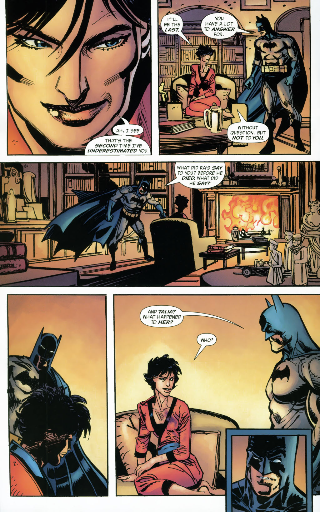 Read online Batman: Death and the Maidens comic -  Issue #9 - 16