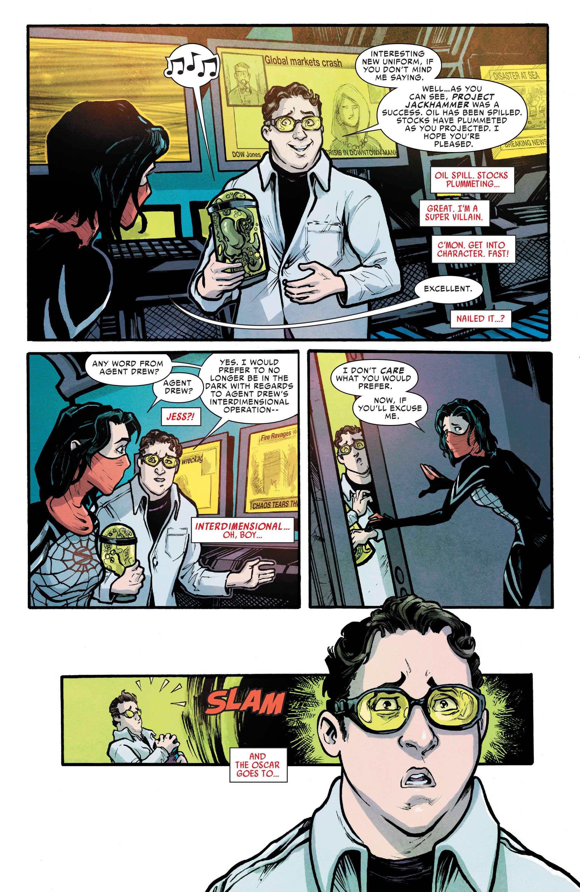 Read online Silk (2016) comic -  Issue #7 - 18