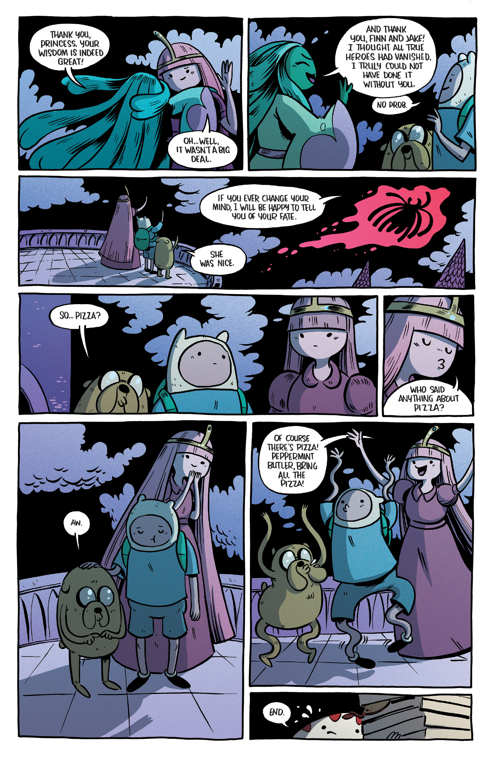 Read online Adventure Time Comics comic -  Issue #10 - 23