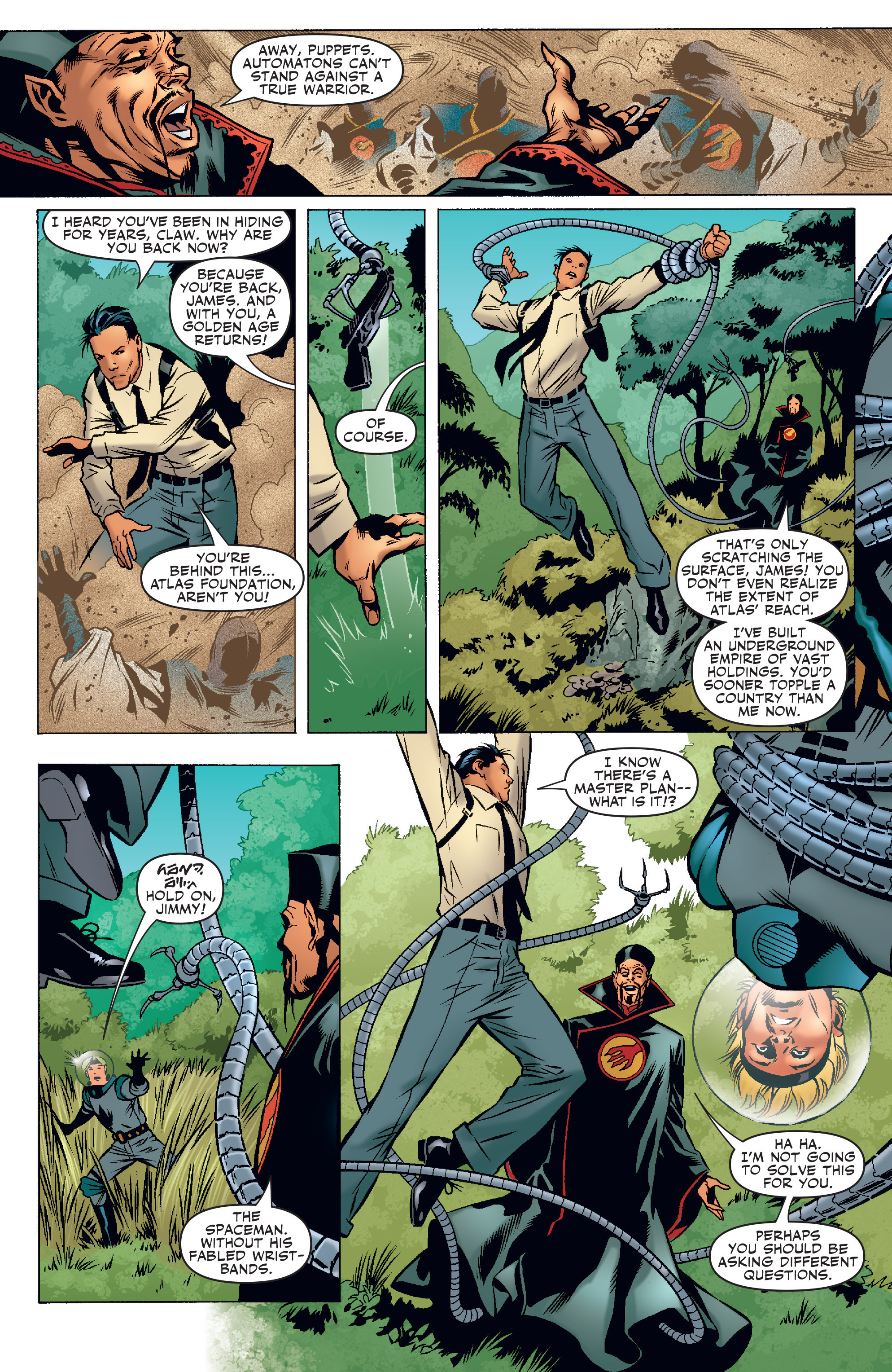 Read online Agents Of Atlas (2006) comic -  Issue #3 - 6