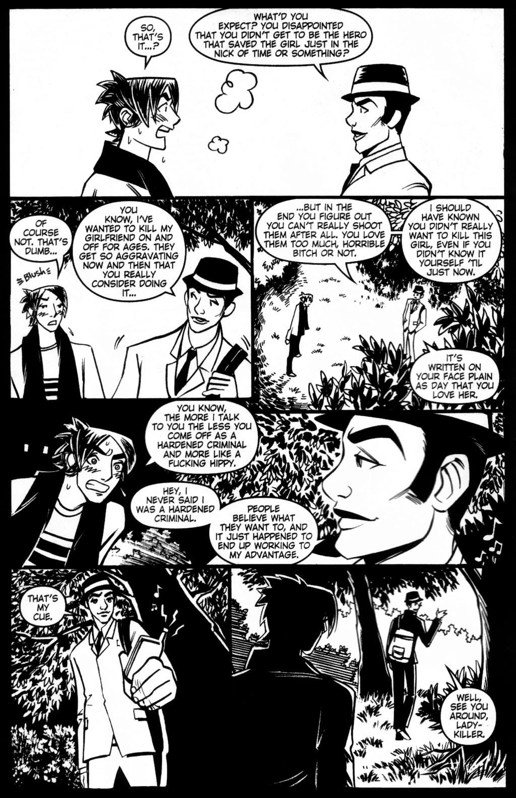 Read online Scooter Girl comic -  Issue #5 - 6