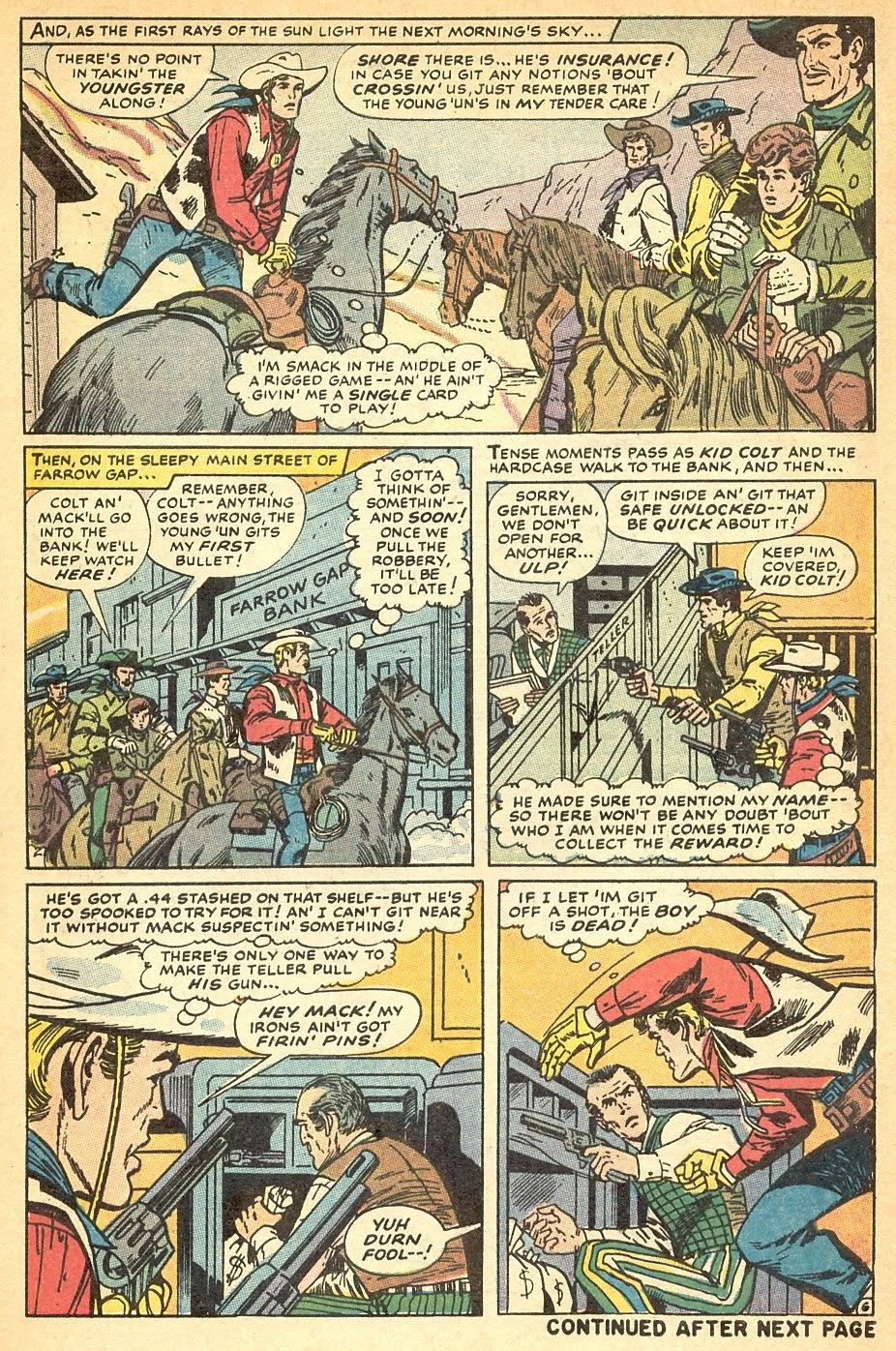 Kid Colt Outlaw issue 140 - Page 9