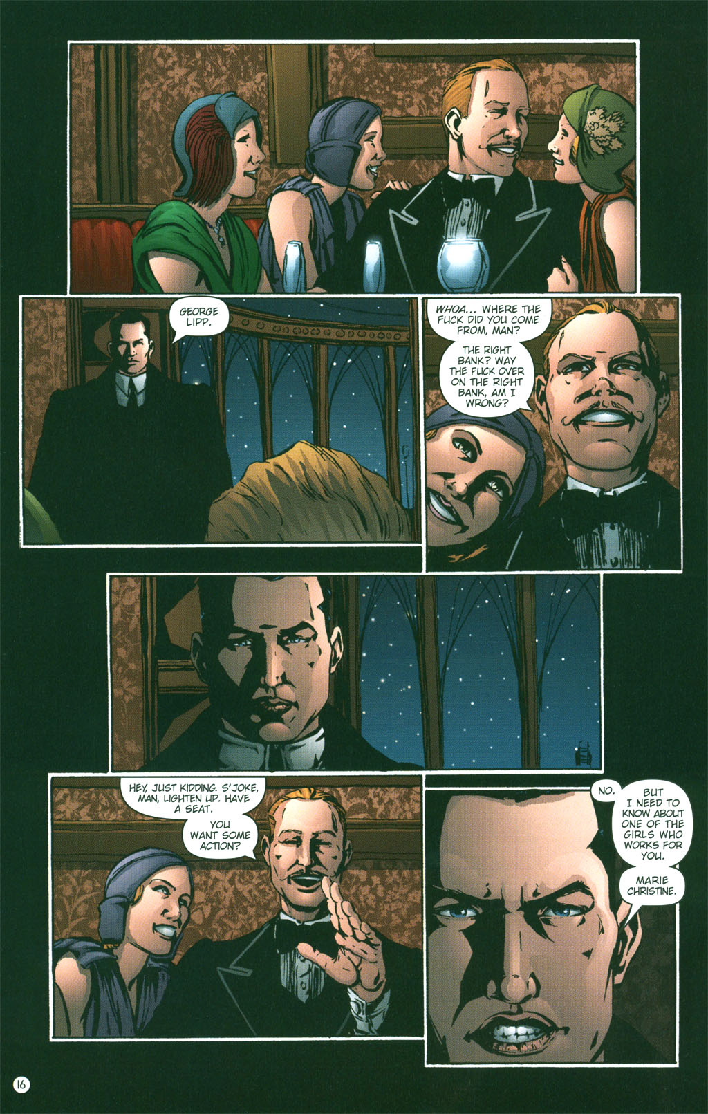 Read online Rex Mundi comic -  Issue #3 - 18