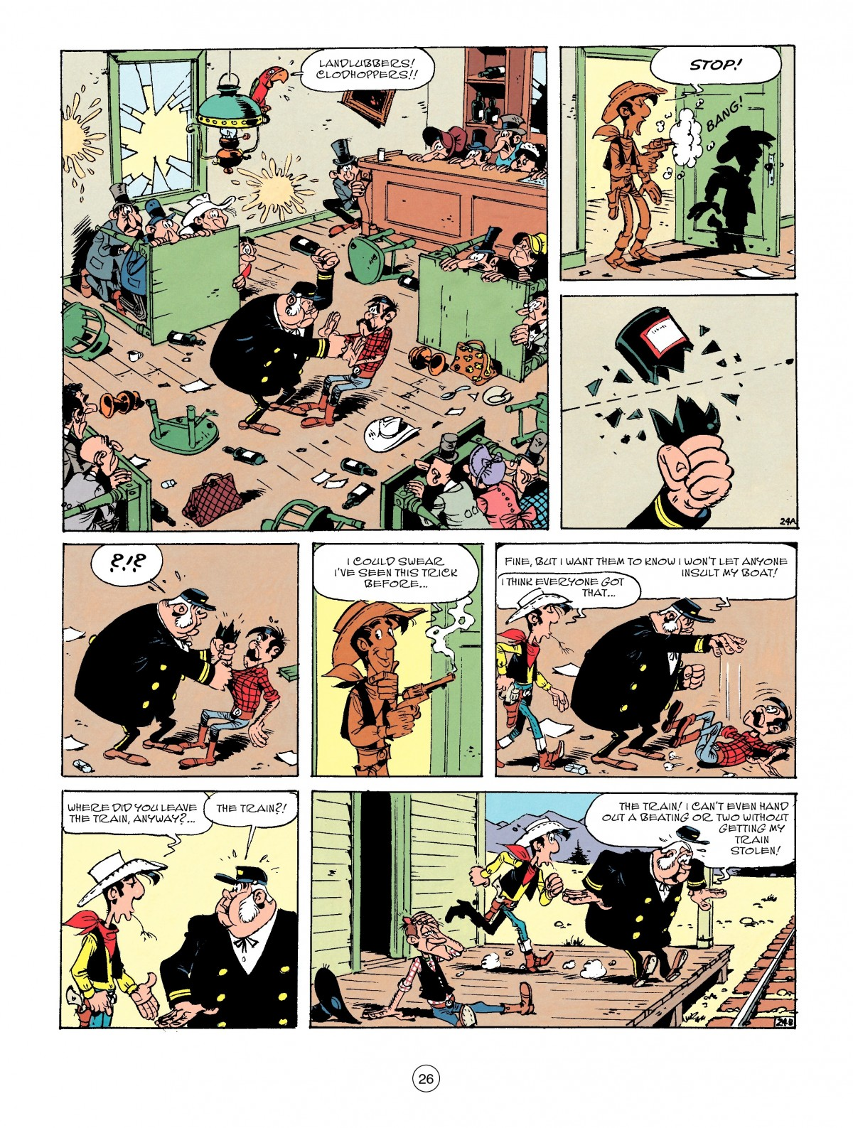 Read online A Lucky Luke Adventure comic -  Issue #53 - 26