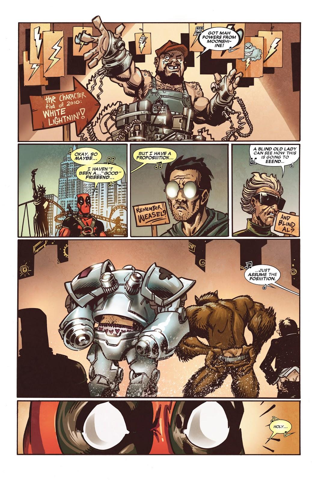 Read online Deadpool (2008) comic -  Issue #49.1 - 17