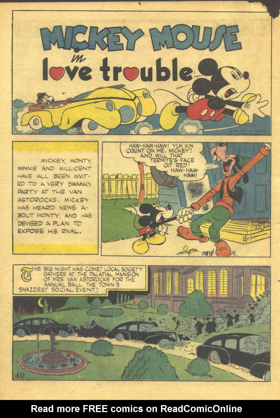 Walt Disney's Comics and Stories issue 39 - Page 42