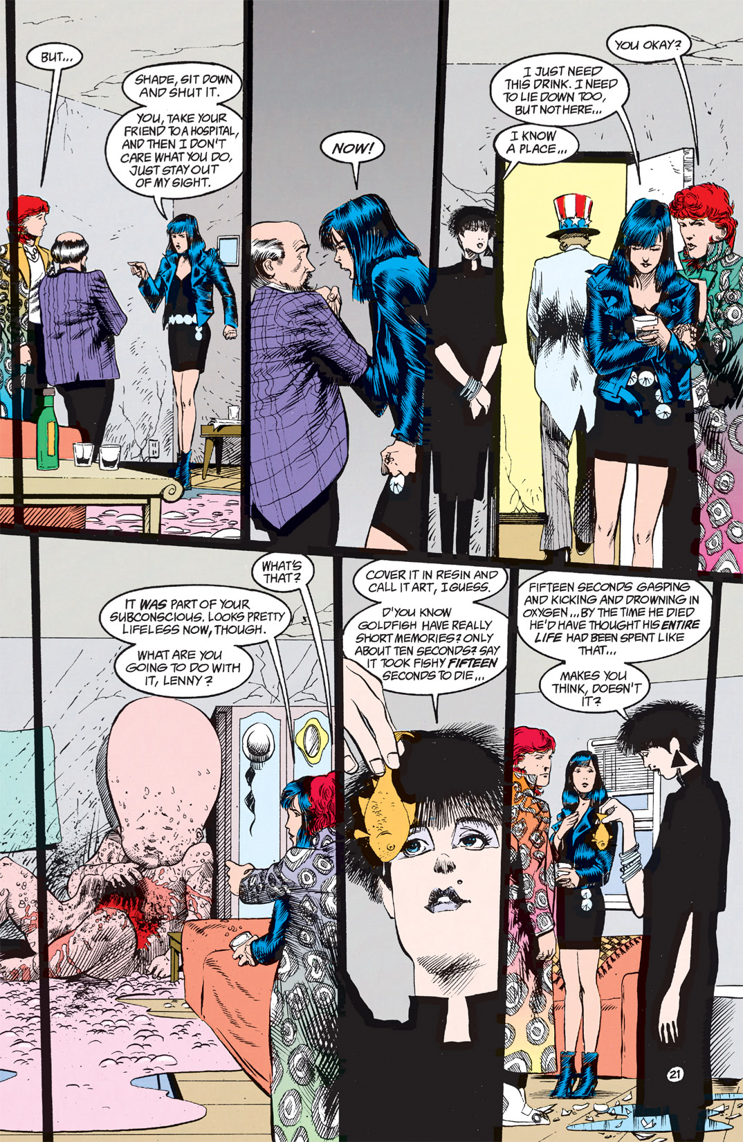 Read online Shade, the Changing Man comic -  Issue #9 - 17