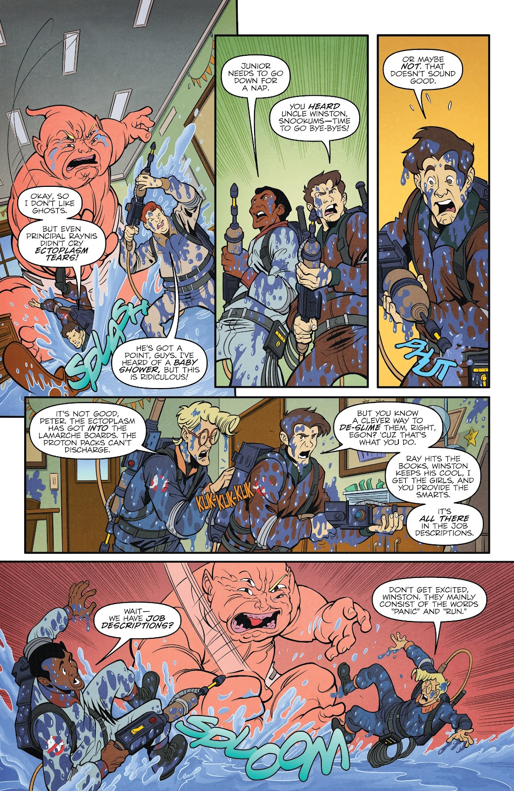 Read online Ghostbusters 35th Anniversary: The Real Ghostbusters comic -  Issue # Full - 6