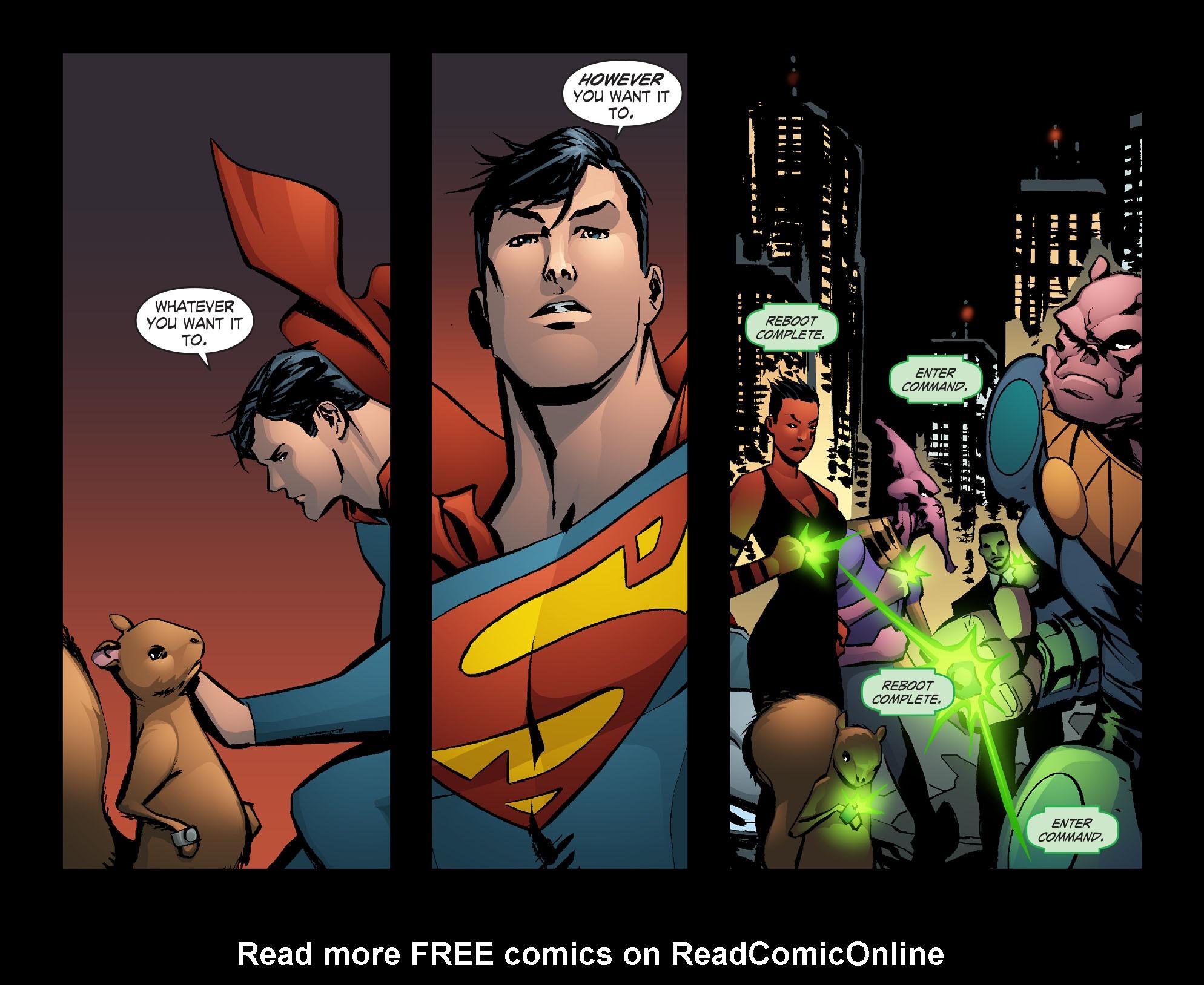 Read online Smallville: Lantern [I] comic -  Issue #12 - 14