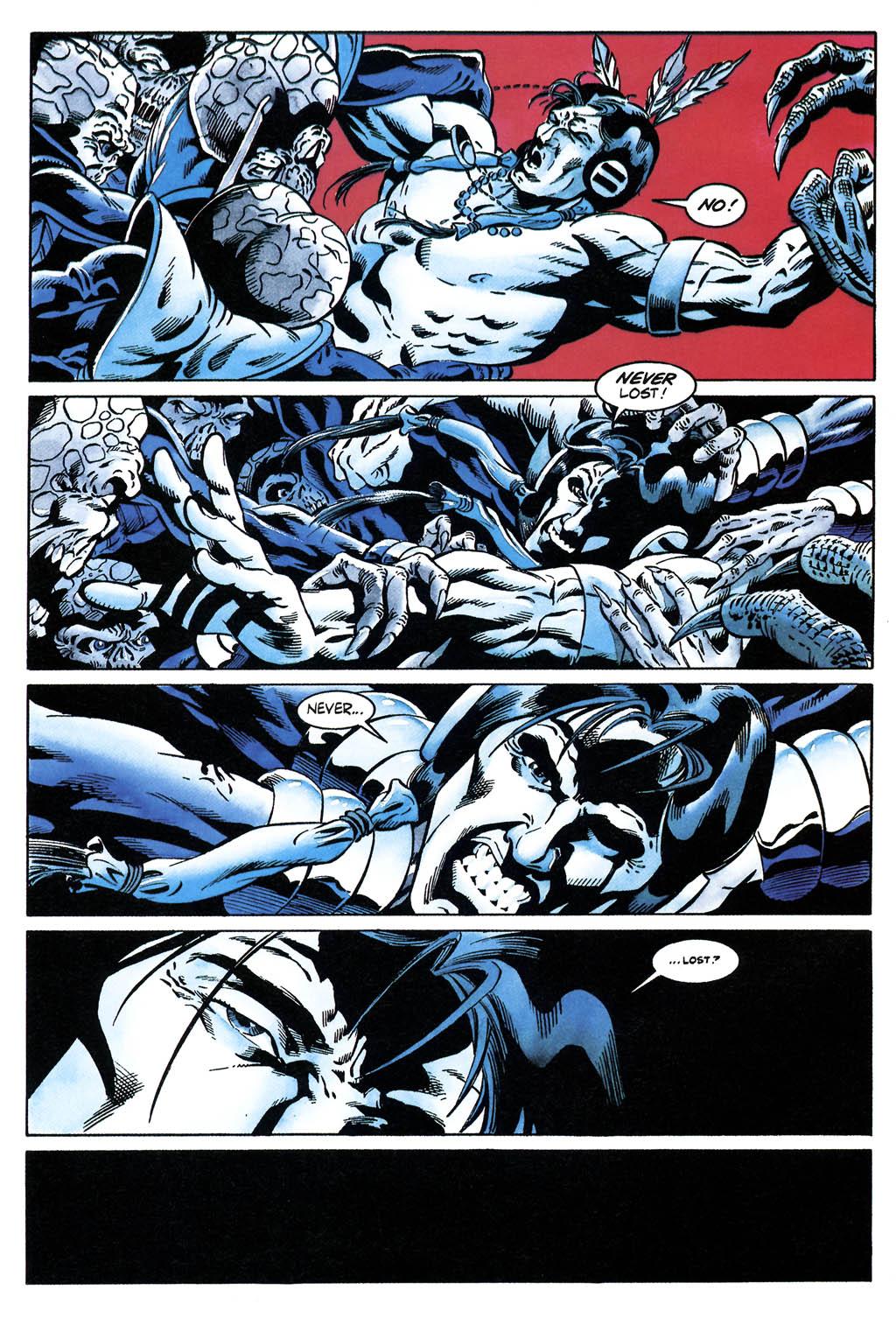 Read online Turok, Dinosaur Hunter (1993) comic -  Issue #36 - 17