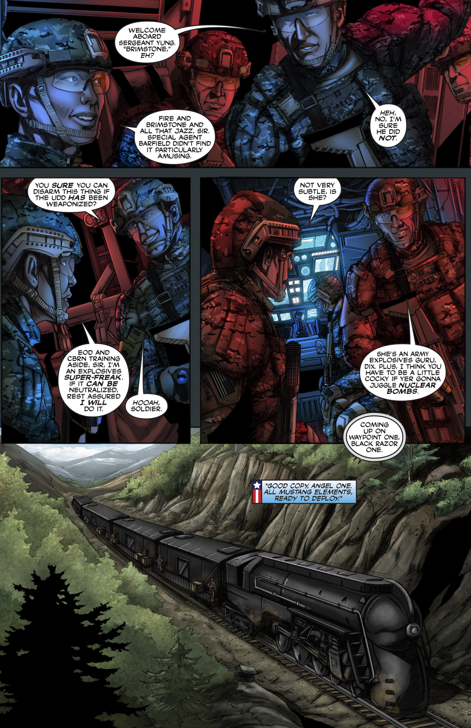 Read online America's Army comic -  Issue #12 - 7