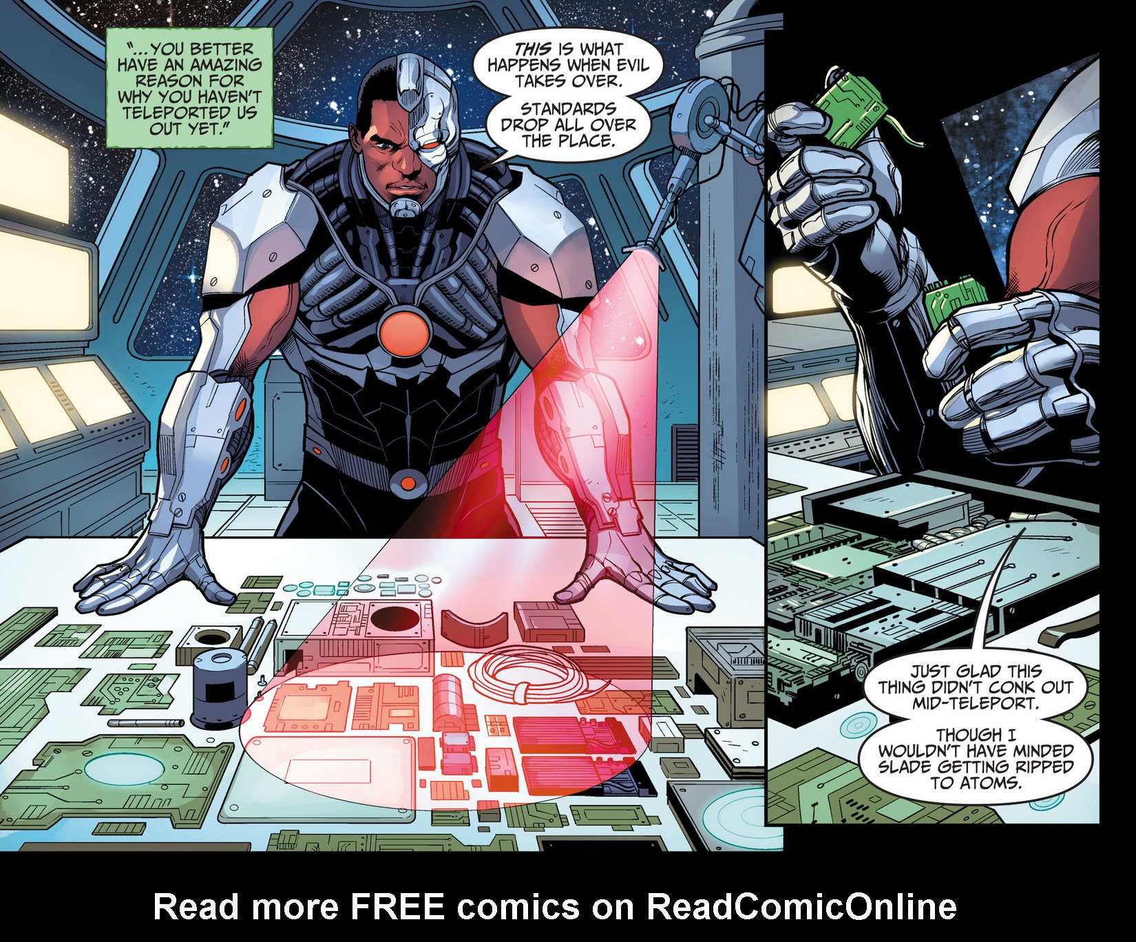 Read online Injustice: Ground Zero comic -  Issue #17 - 9