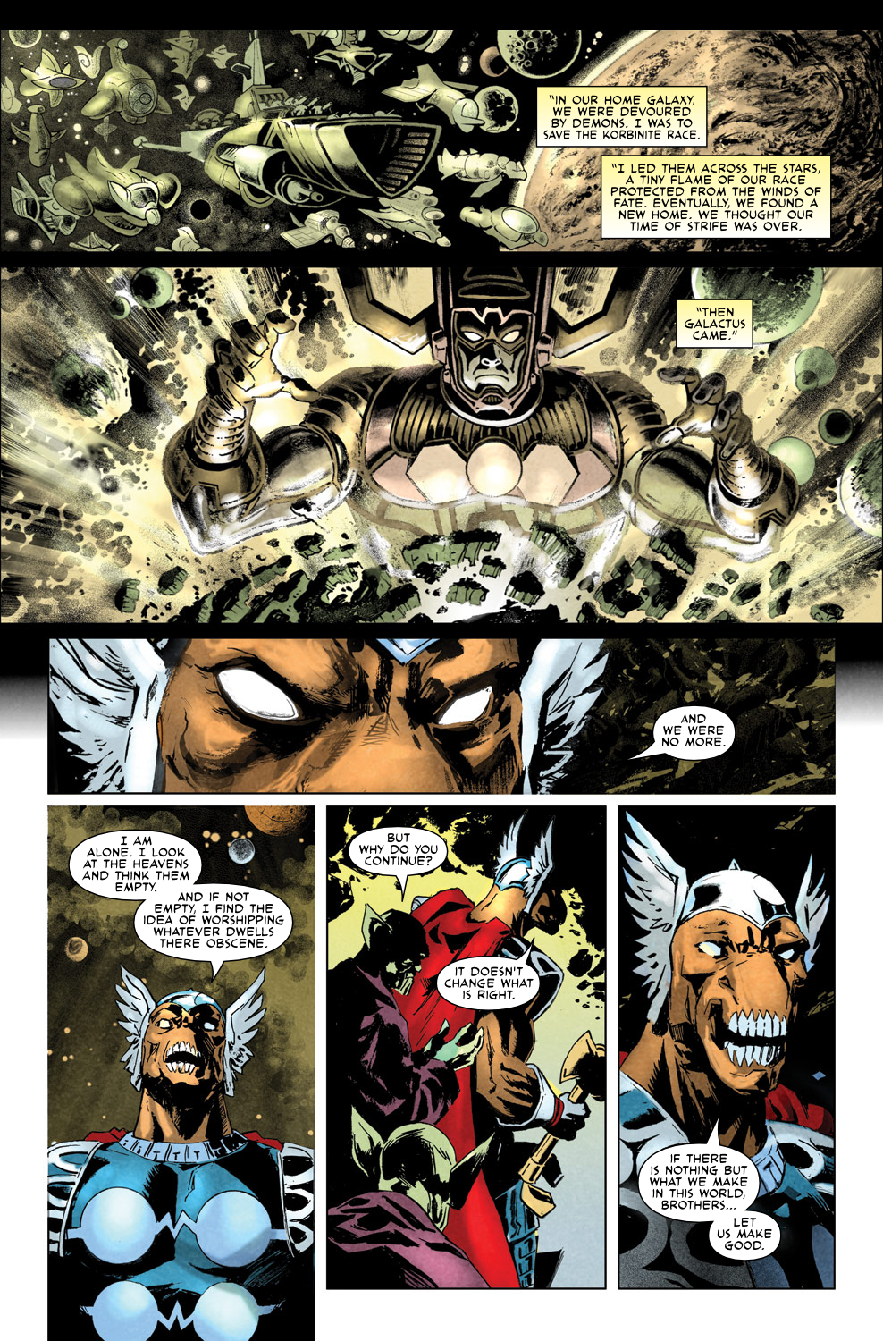 Read online Secret Invasion Aftermath: Beta Ray Bill - The Green of Eden comic -  Issue # Full - 20