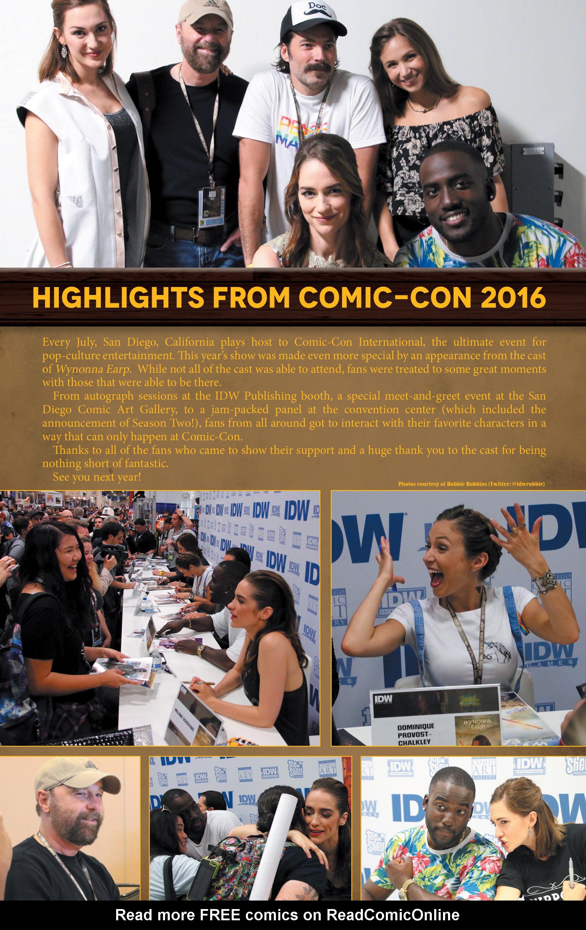 Read online Wynonna Earp (2016) comic -  Issue #8 - 24
