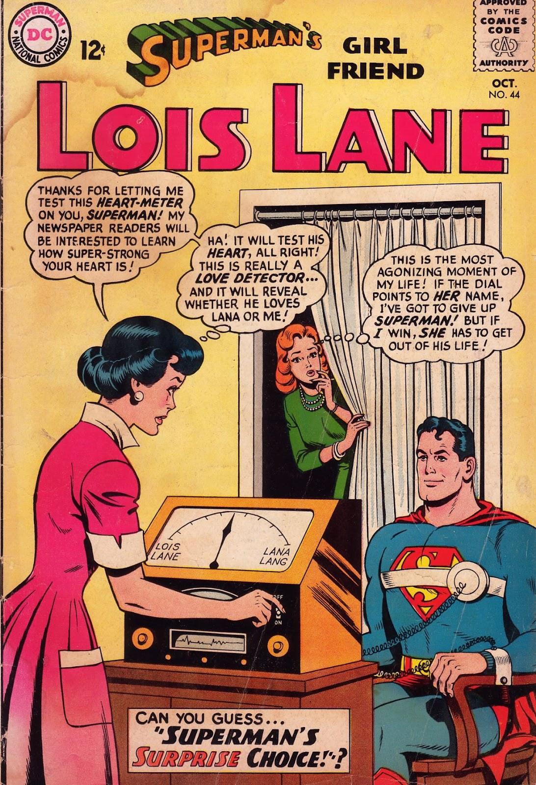 Supermans Girl Friend, Lois Lane 44 Page 1