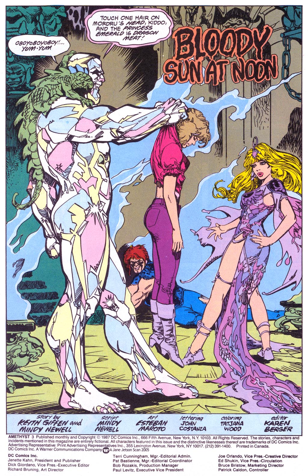 Read online Amethyst (1987) comic -  Issue #3 - 3