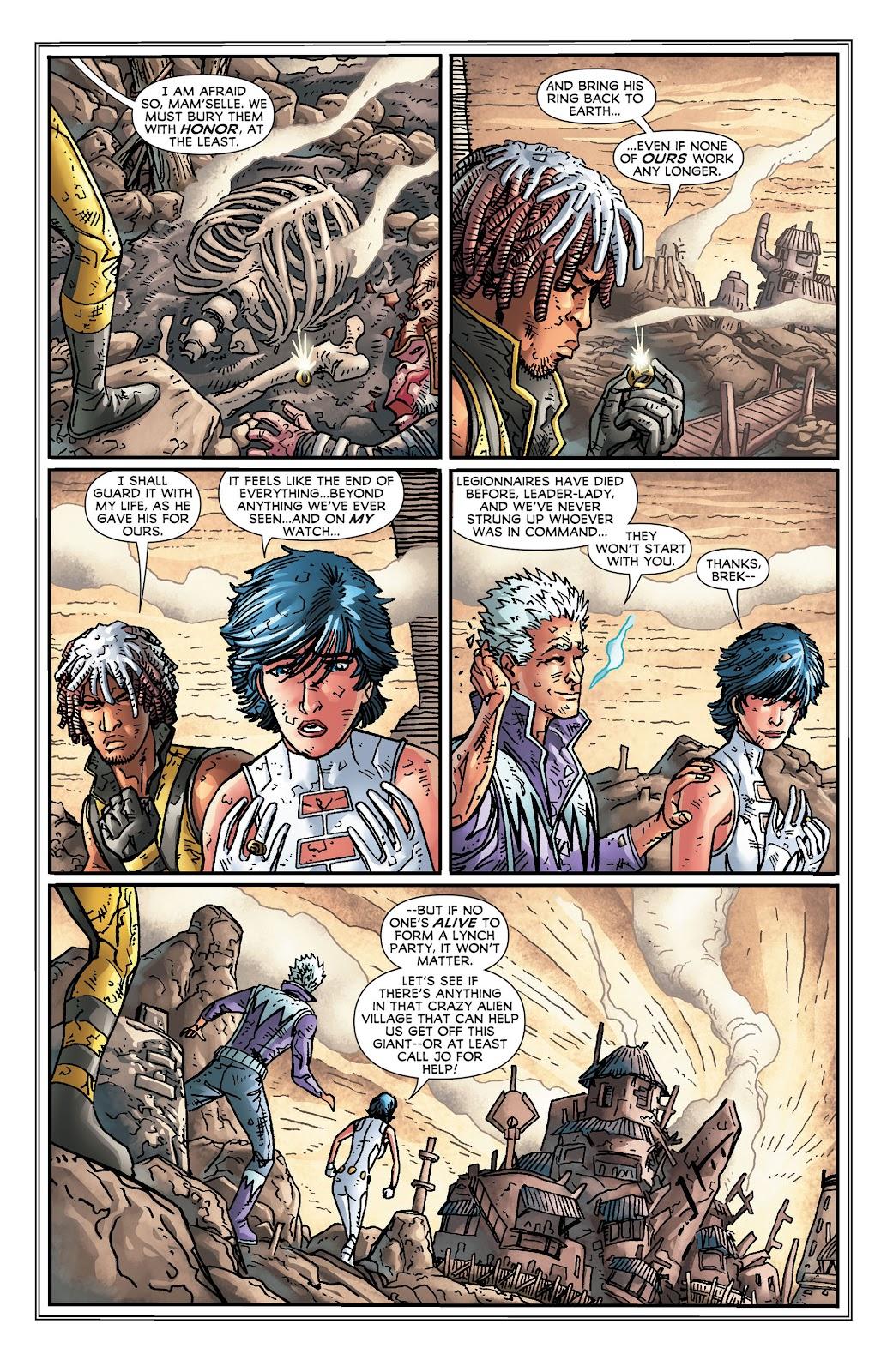 Legion of Super-Heroes (2011) Issue #18 #19 - English 15