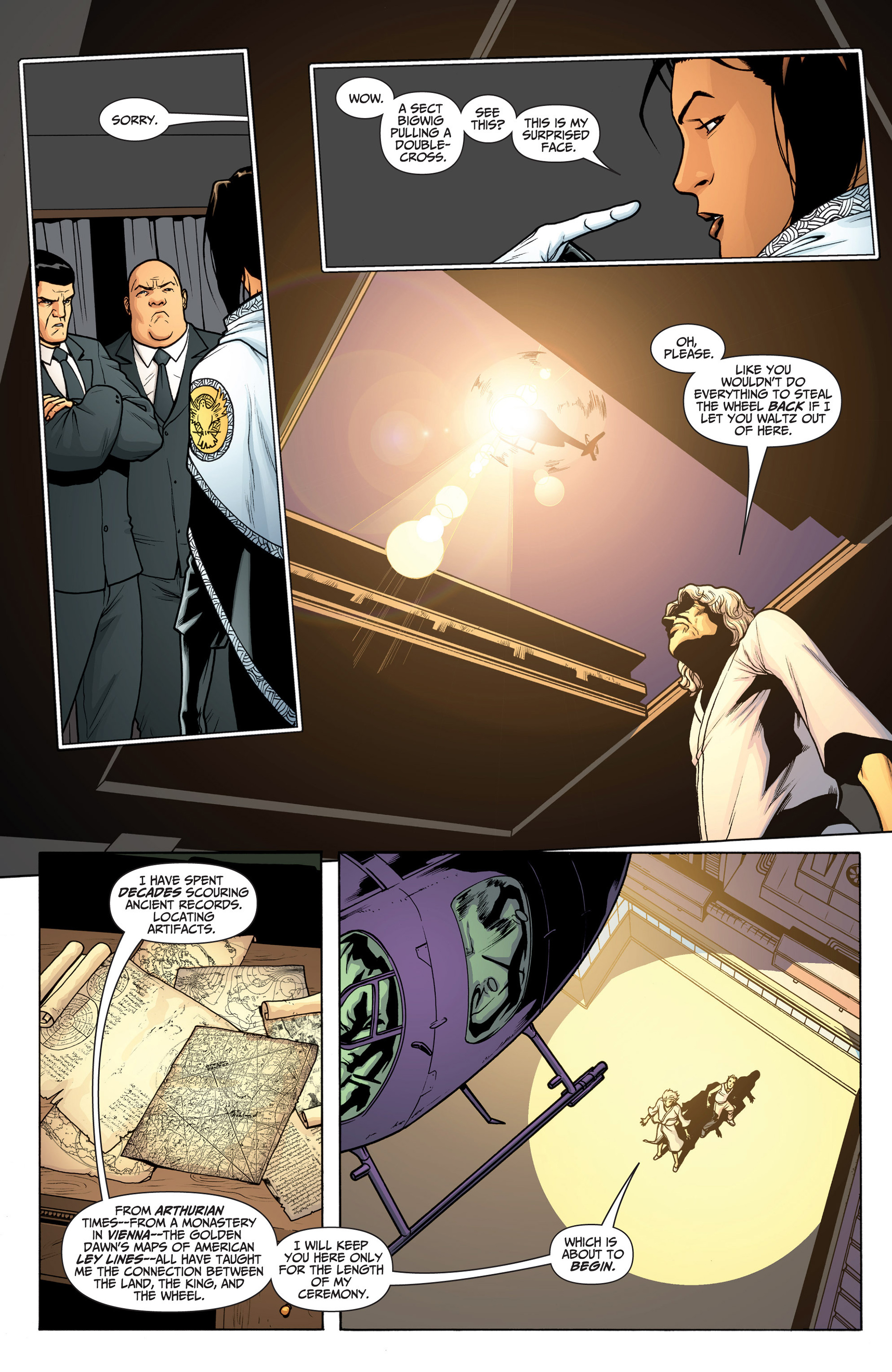 Read online Archer and Armstrong comic -  Issue #23 - 5
