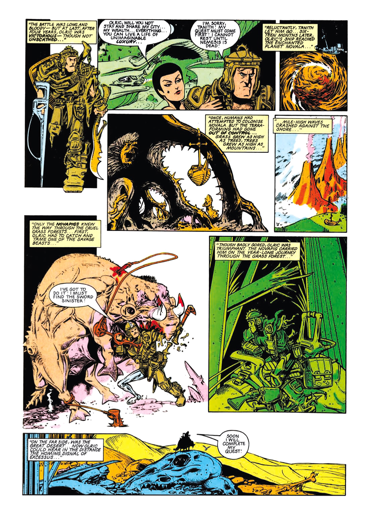 Read online Nemesis The Warlock comic -  Issue # TPB Deviant Edition - 65