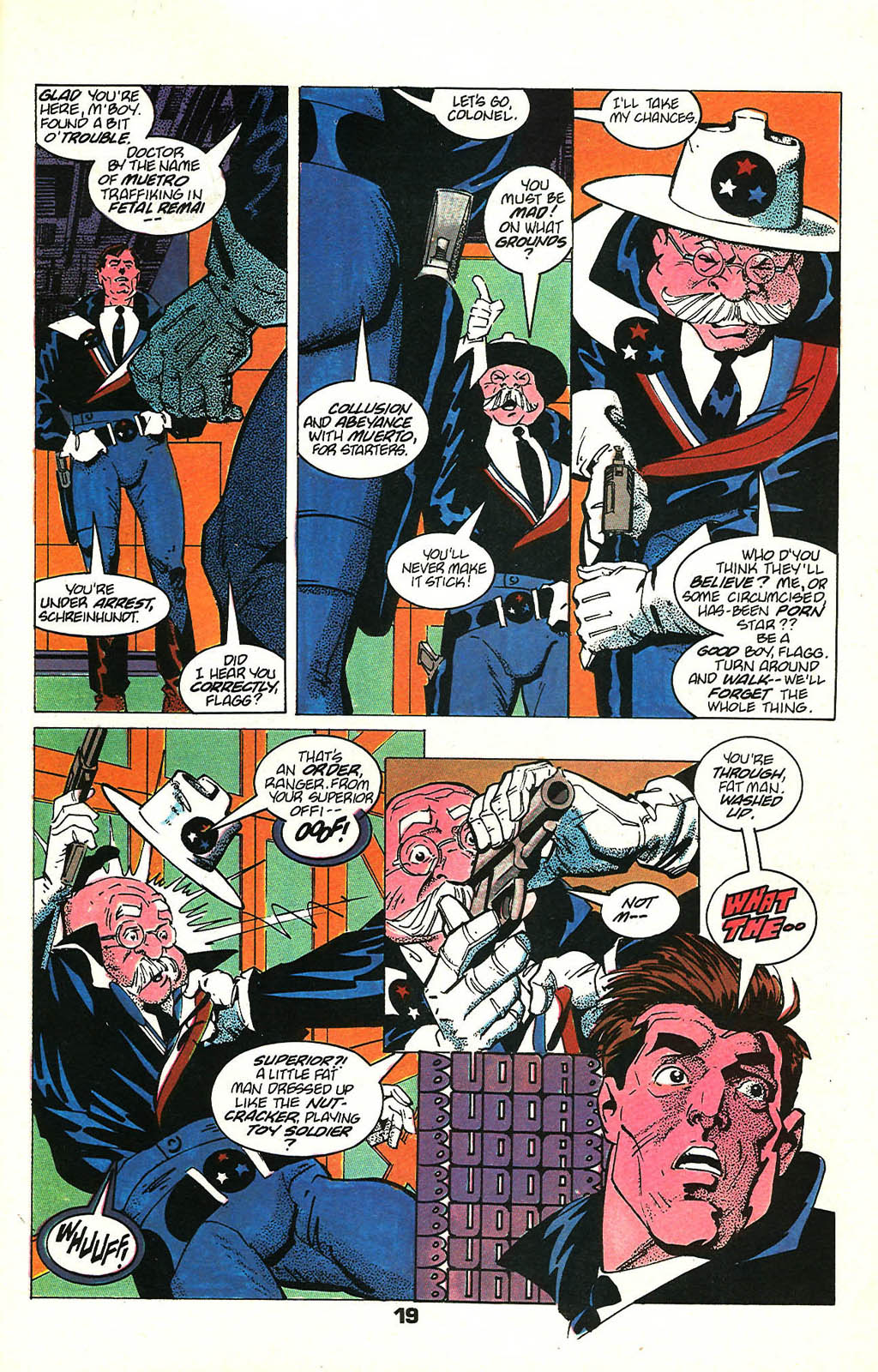Read online American Flagg! comic -  Issue #48 - 25