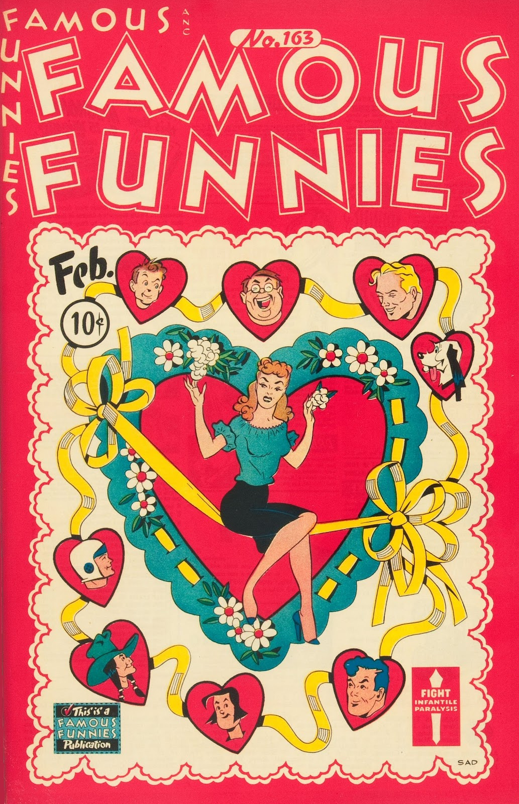 Read online Famous Funnies comic -  Issue #163 - 1