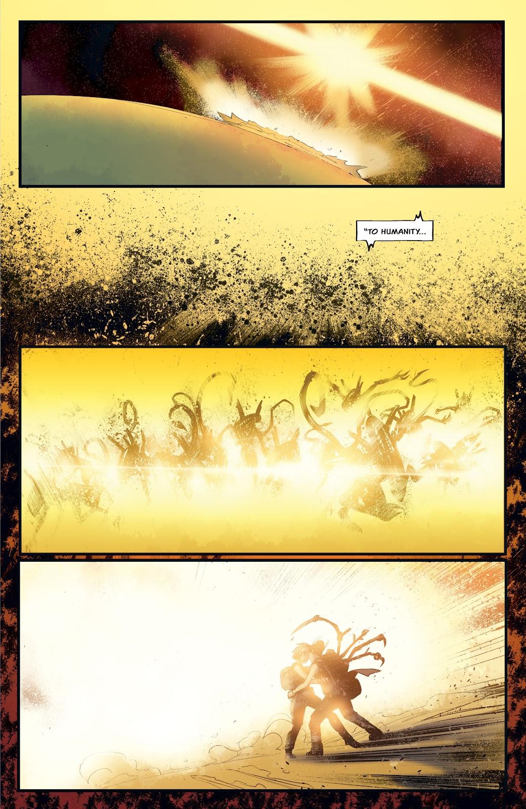 Read online Aliens: Resistance comic -  Issue #4 - 21