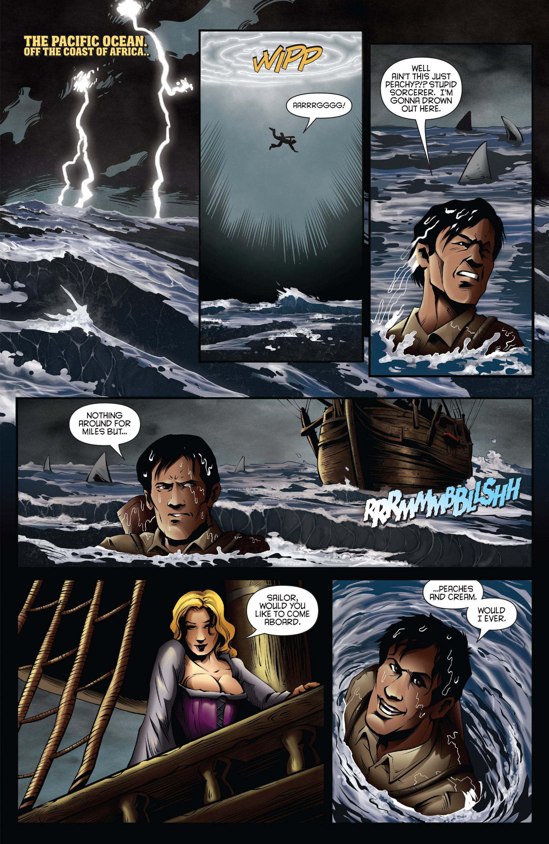 Read online Ash and the Army of Darkness comic -  Issue #Ash and the Army of Darkness _Annual 1 - 15