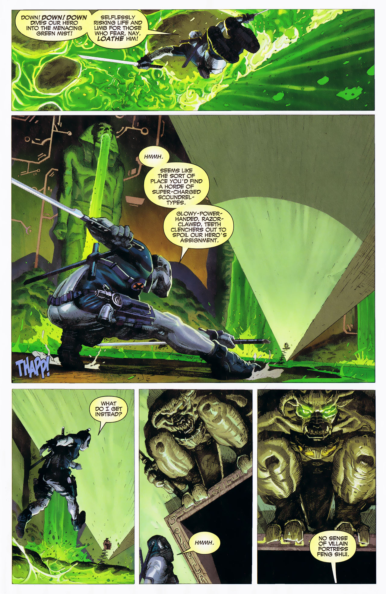 Read online Uncanny X-Force: The Apocalypse Solution comic -  Issue # Full - 5