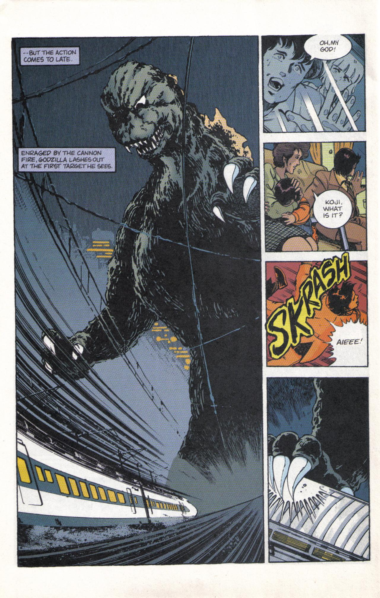 Read online Dark Horse Classics: Terror of Godzilla comic -  Issue #3 - 28