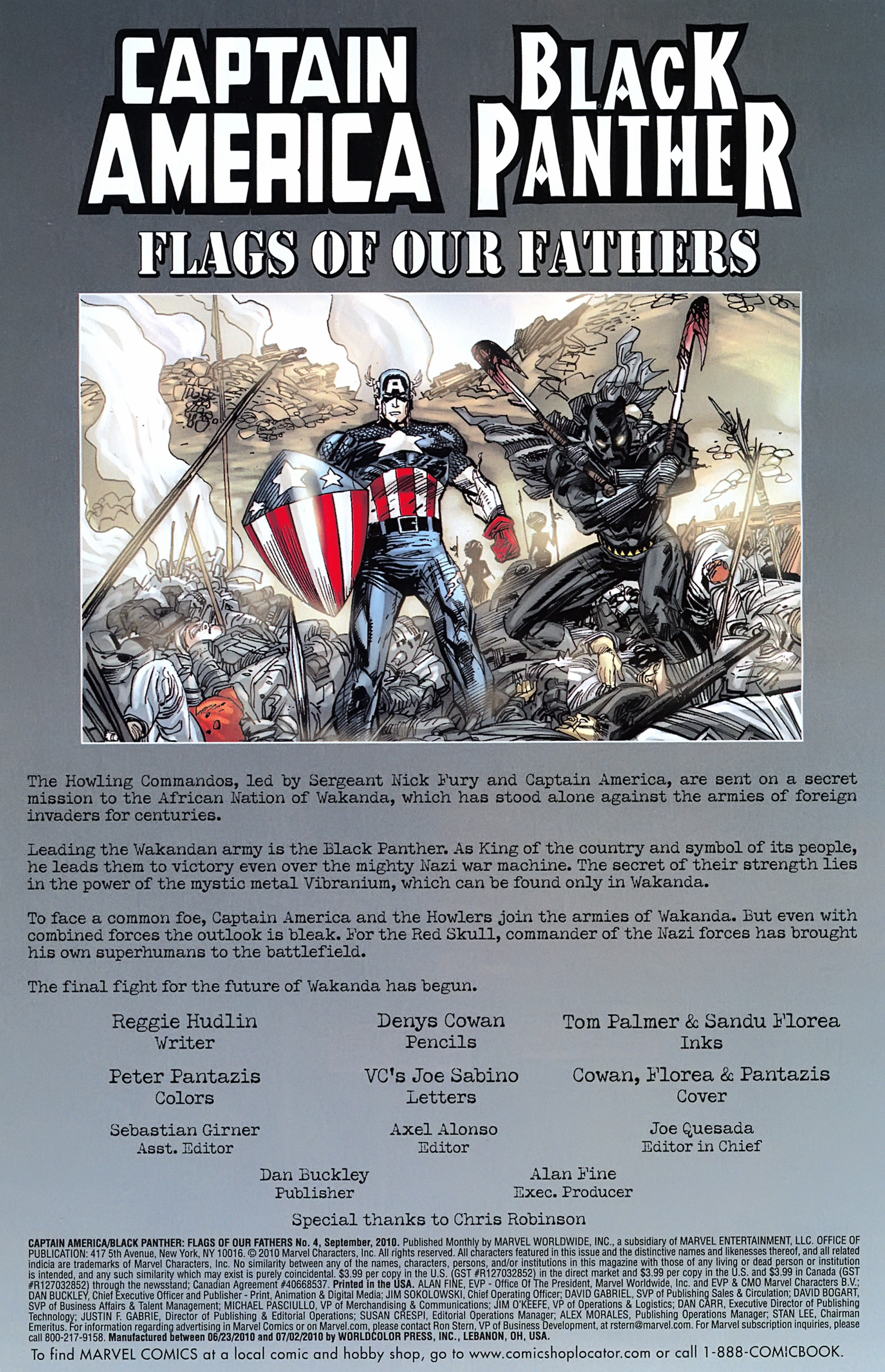 Black Panther/Captain America: Flags Of Our Fathers 4 Page 2