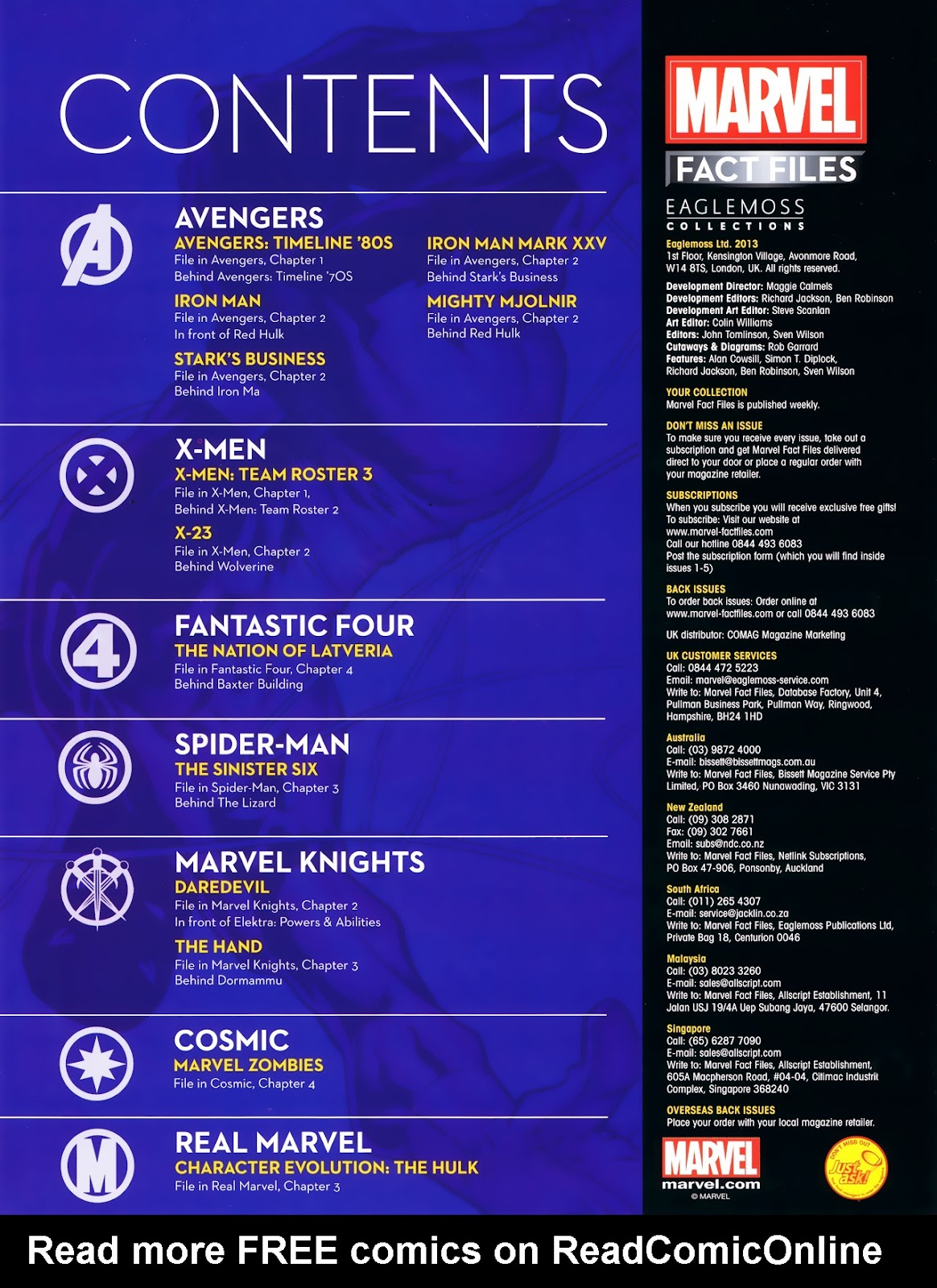 Comic Marvel Fact Files issue 4