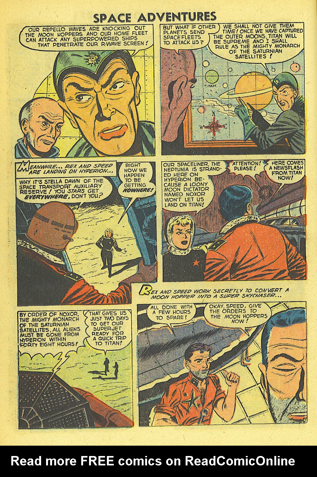 Space Adventures (1952) issue 4 - Page 11