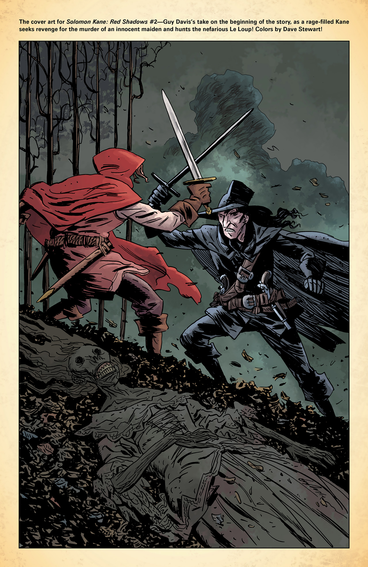 Read online Solomon Kane: Red Shadows comic -  Issue #1 - 27
